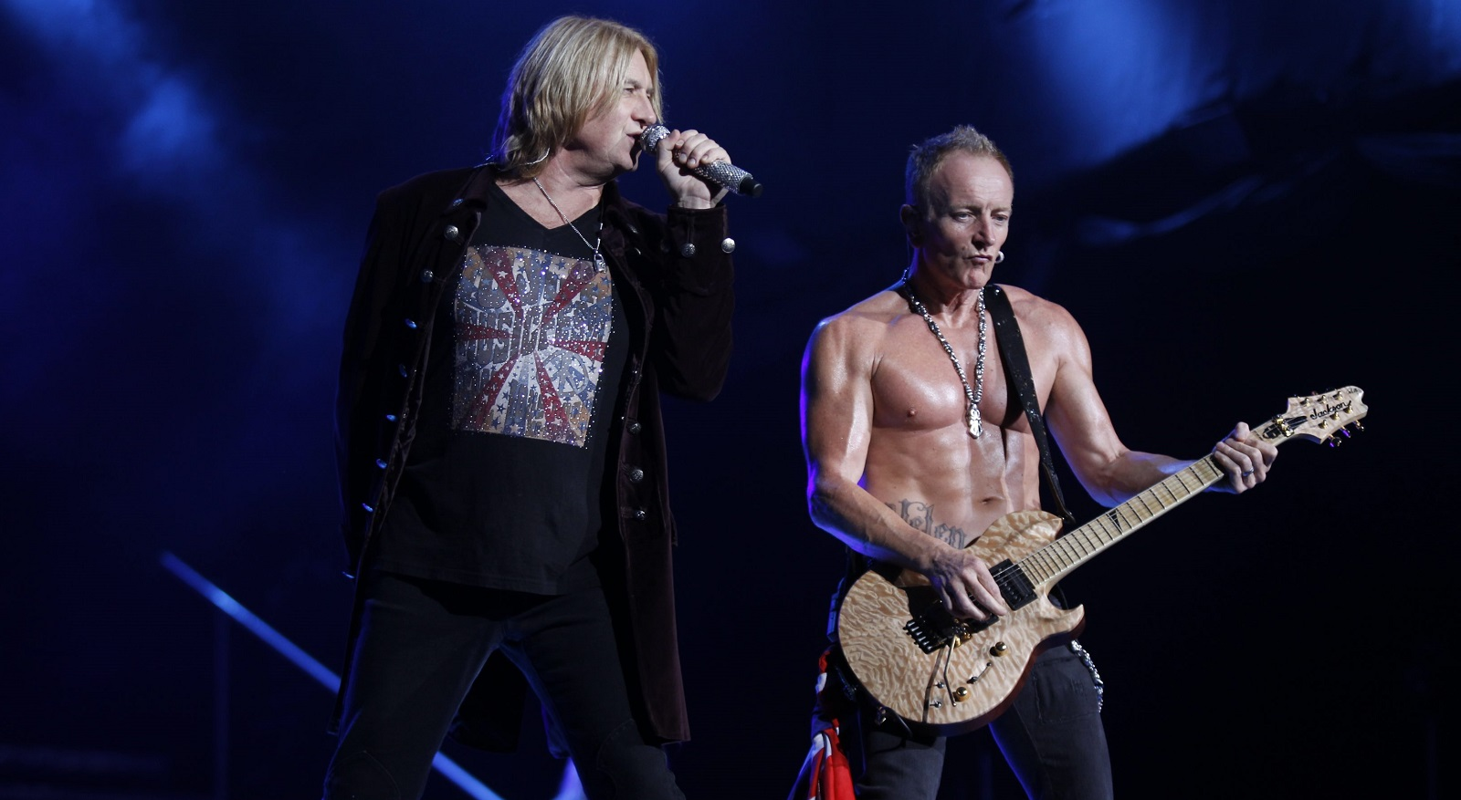 Def Leppard performs at Darien Lake in 2012. (Harry Scull Jr./Buffalo News file photo)