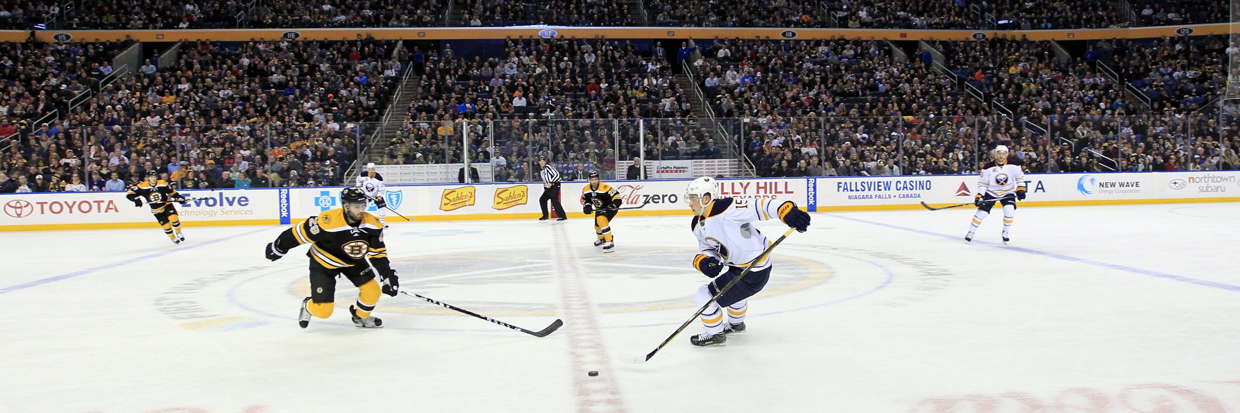 Jack Eichel and the Sabres have had a horrible season at home to this point.