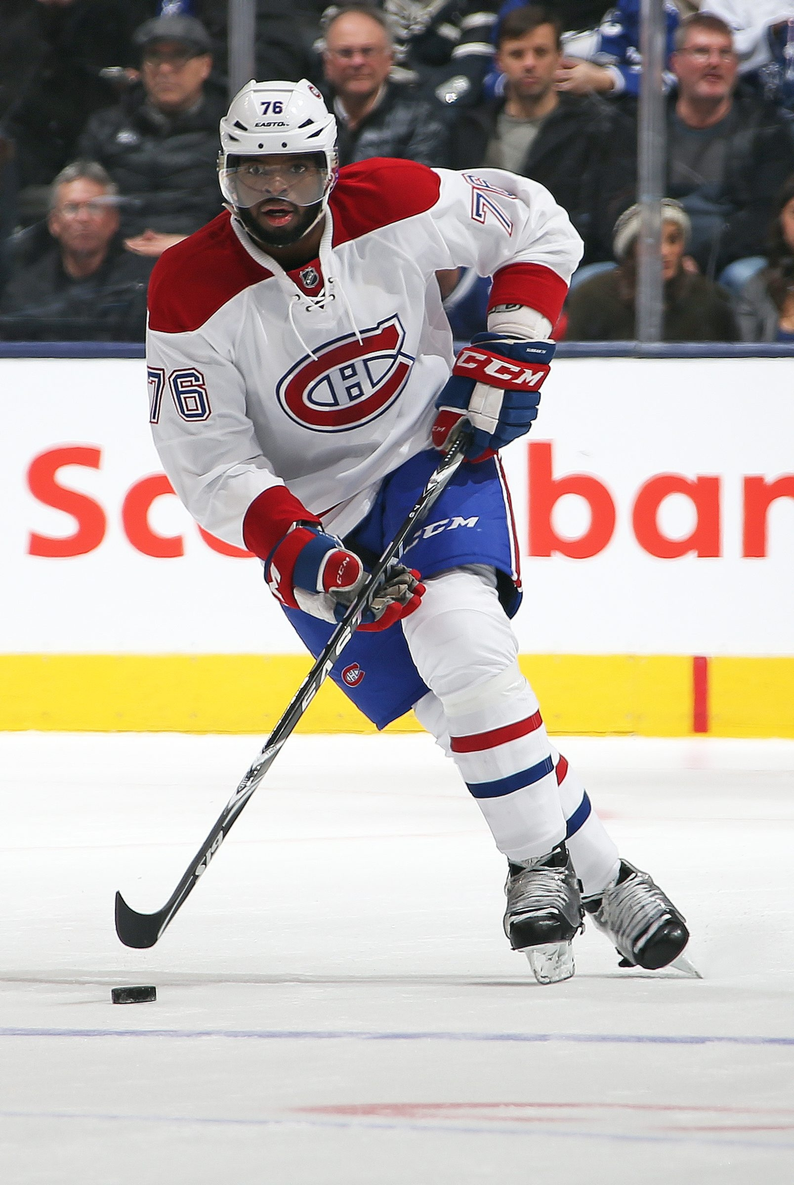 Montreal's P.K. Subban is the team's brightest star, but was wrongly singled out by coach Michel Therrien for a mistake in a recent game.
