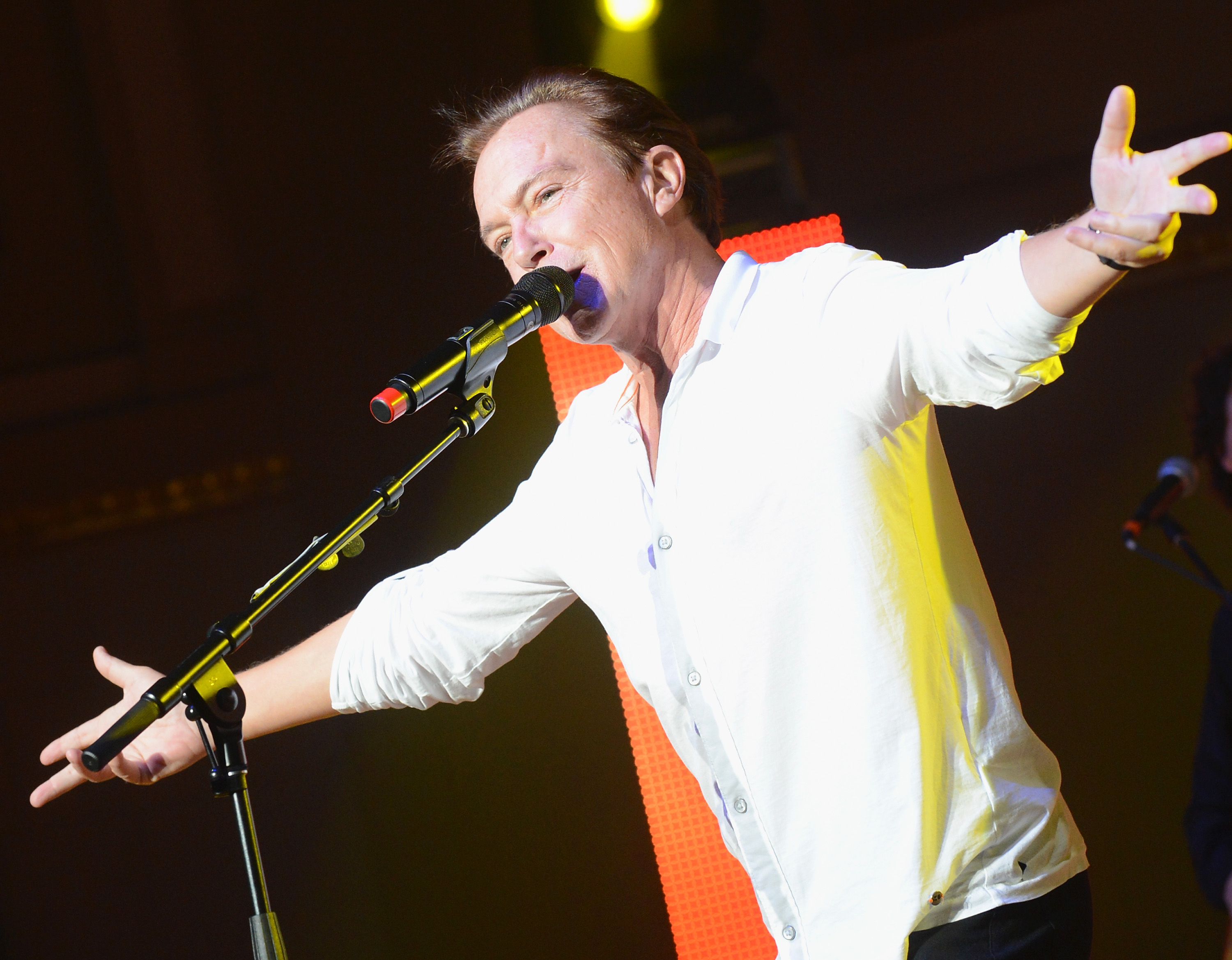 David Cassidy will perform at the Riviera Theatre. (Getty Images)