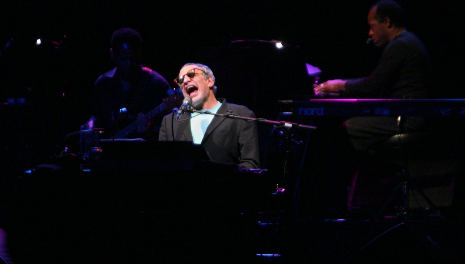 Donald Fagen, seen here performing in 2007 at the Seneca Niagara Casino, will be back with Steely Dan mate Walter Becker on April 29. (Buffalo News file photo)