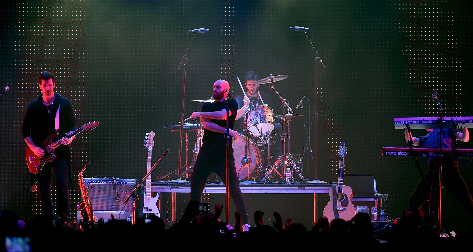 X Ambassadors has scheduled a May date in Buffalo's Town Ballroom. (Getty Images)