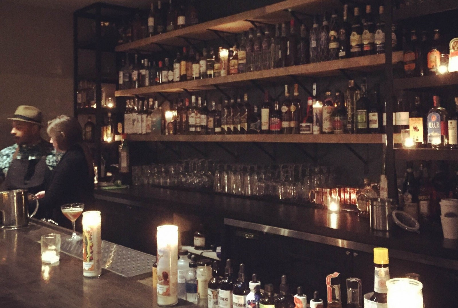 A look at the bar area for Pasion on Elmwood Avenue. (via Pasion)