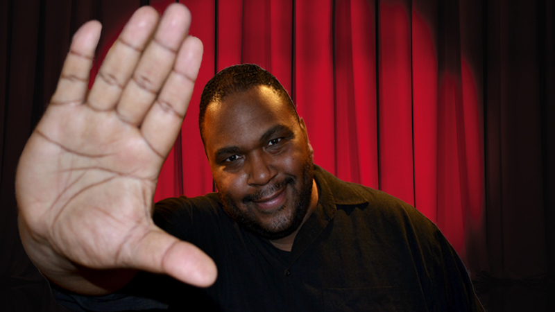 Larry XL will perform two shows at Rob's Comedy Playhouse on  Feb. 20. (Courtesy of Larry XL)