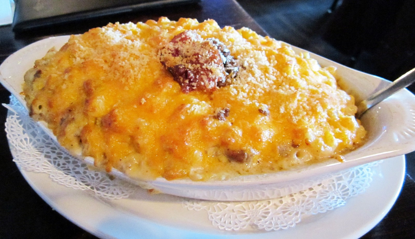 Mooney's mac 'n cheese is just one of the many kinds that are served in Buffalo restaurants. (Emeri Krawczyk/Special to The News)