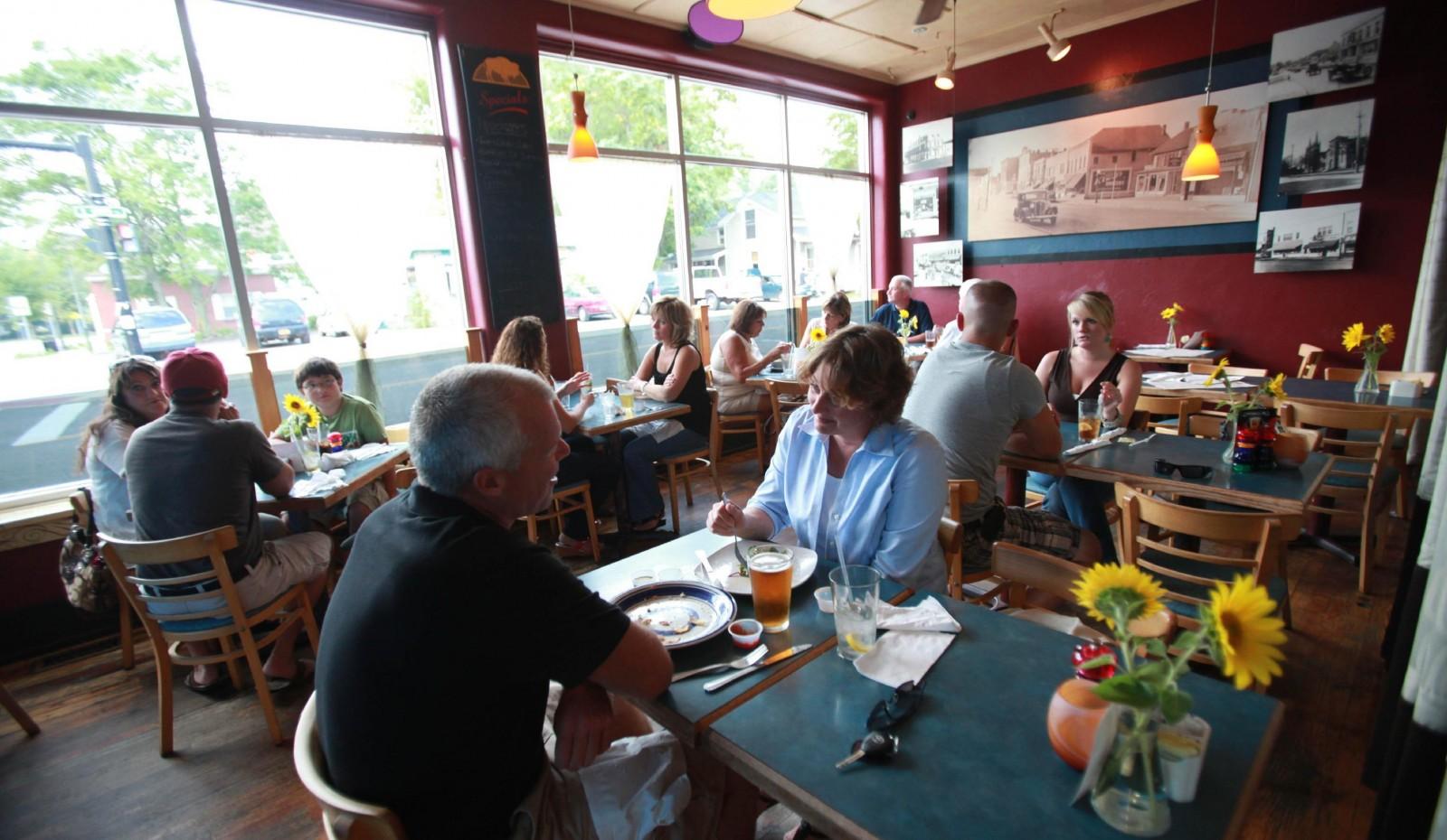 Buffalo Street Grill is heading upscale, to become Carte Blanche. (Sharon Cantillon/Buffalo News)