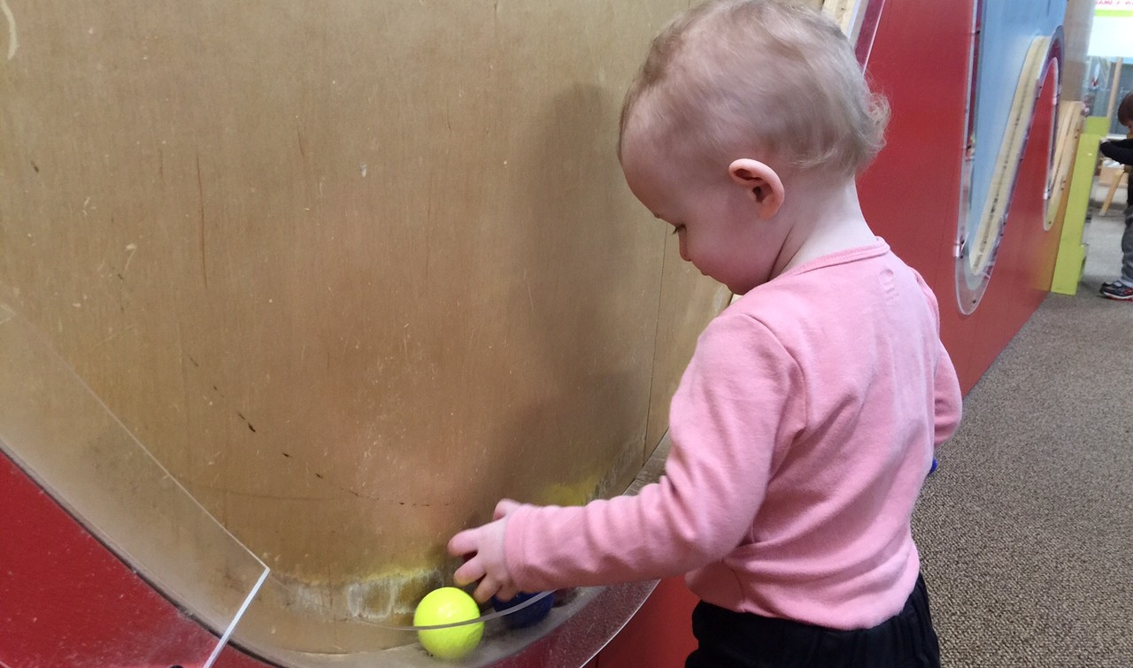 Toddlers are curious and love to learn.  (Mary Friona-Celani/Special to The News)