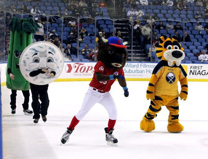 Sabretooth, right, will join a host of sports and fitness fans Saturday at the Buffalo Museum of Science. (Buffalo News file photo)