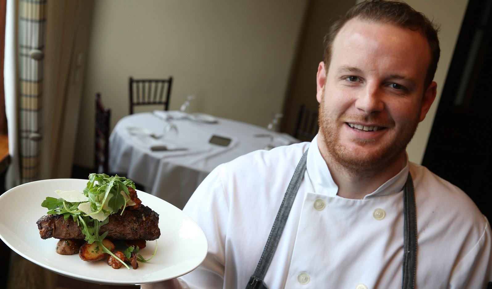 Former Tempo Executive Chef Andrew Murtha will start Carte Blanche in Hamburg.  (Sharon Cantillon/Buffalo News file photo)