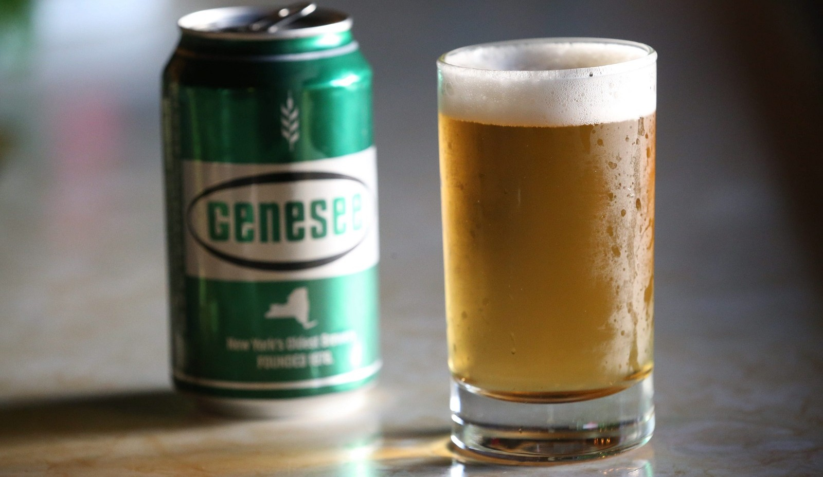 R&L Lounge in Buffalo sells cans of Genesee Cream Ale. (Sharon Cantillon/Buffalo News)