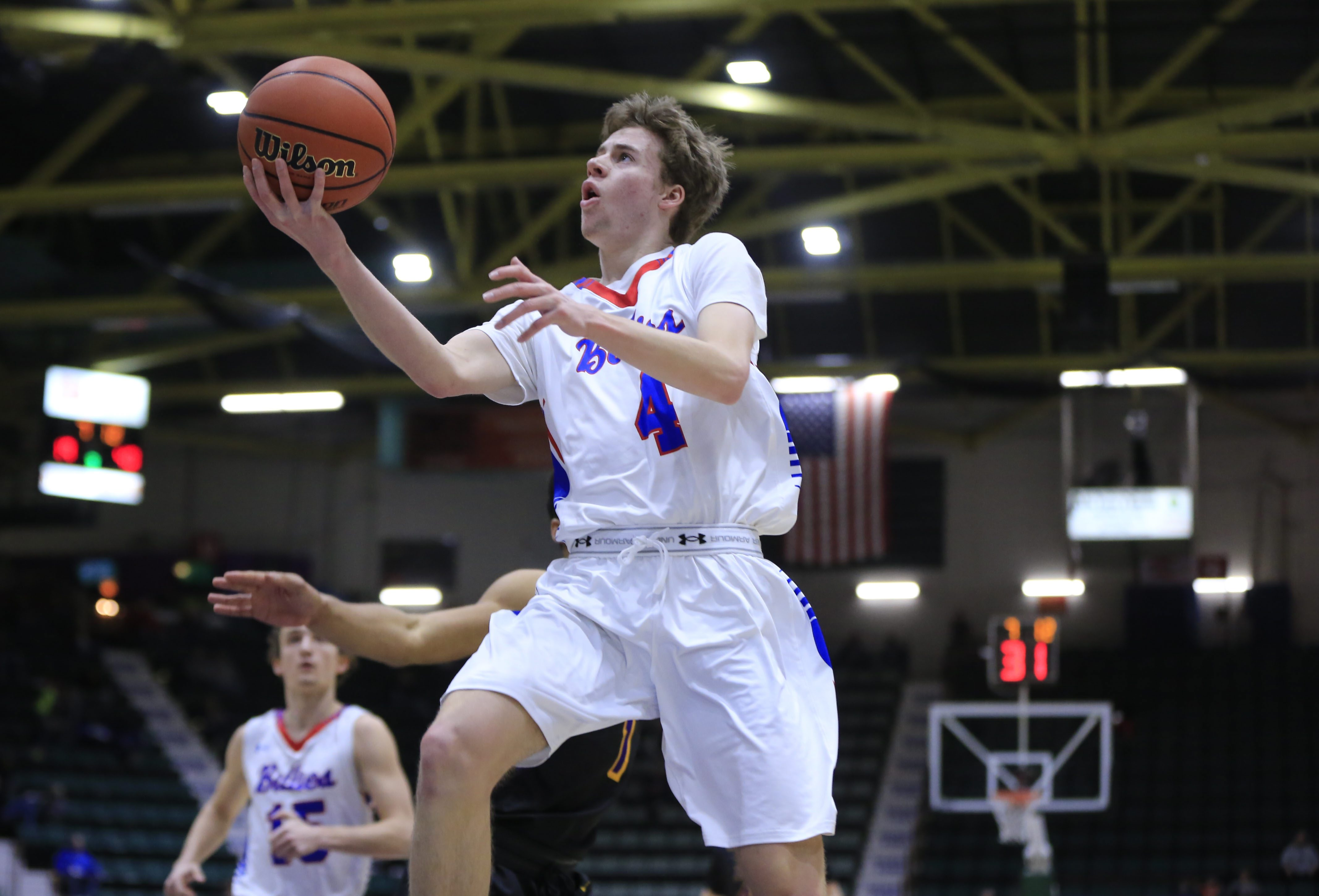 Williamsville South's Greg Dolan iis among the standouts from the just completed basketball postseason. (Harry Scull Jr./Buffalo News)