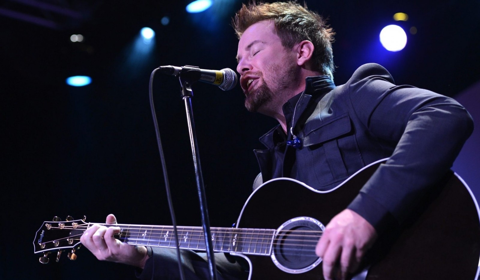 David Cook performs March 11 in the Town Ballroom. (Getty Images)