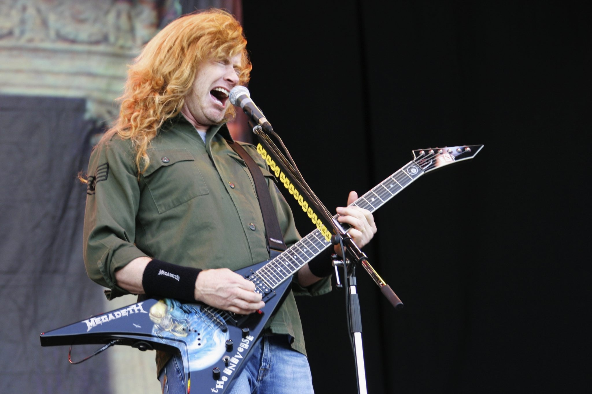 Dave Mustaine and Megadeth perform March 15 at Town Ballroom. (Getty Images)