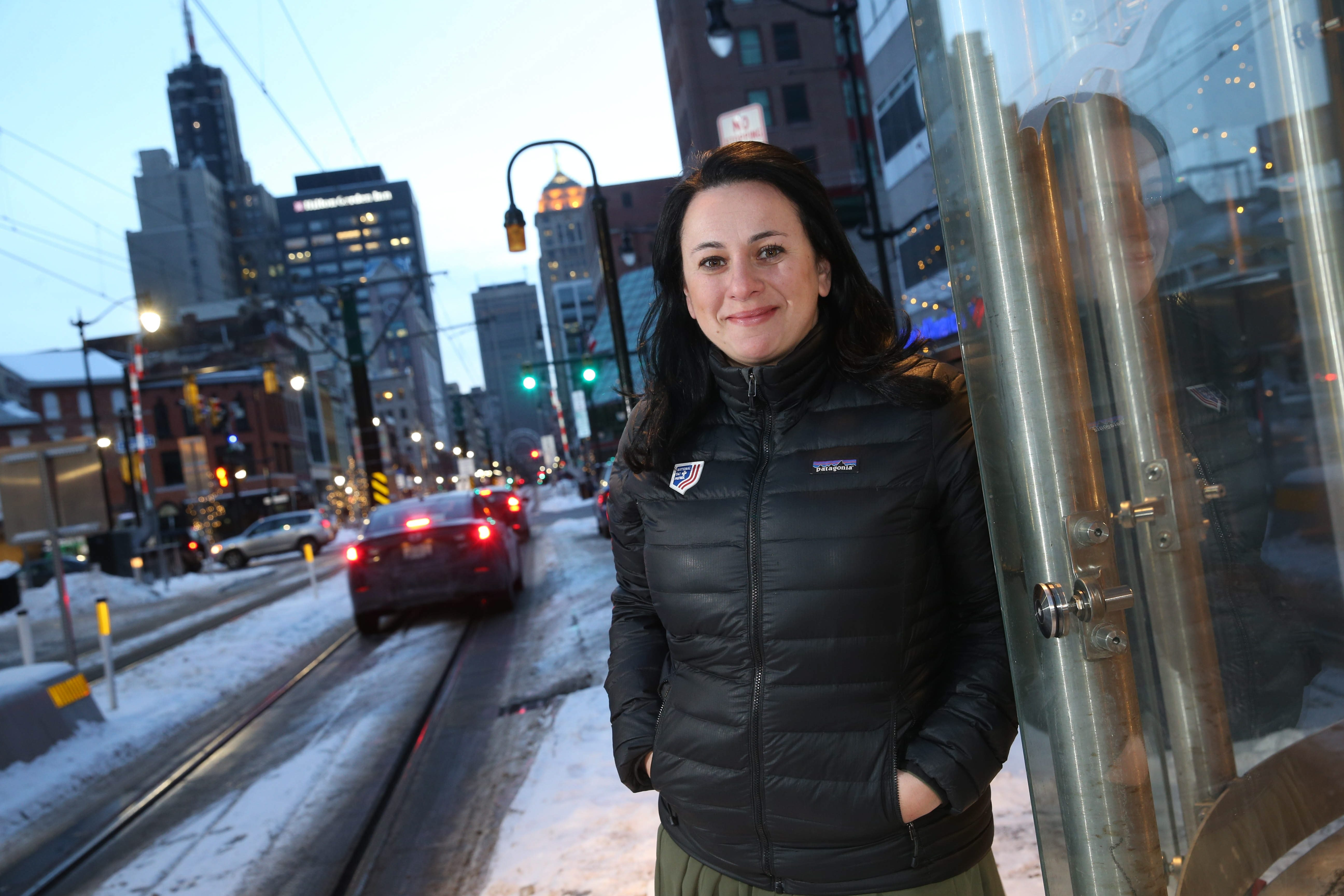 Before she came to Buffalo, Florina Altshiler worked in corporate law in New York City and as an assistant district attorney in Anchorage. (Sharon Cantillon/Buffalo News)