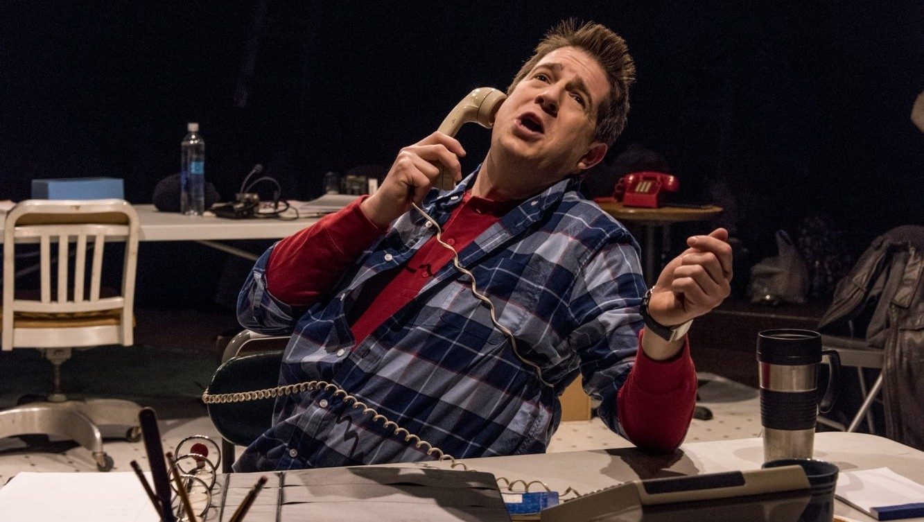 "Brian Mysliwy is remarkable in ""Fully Committed"" at Irish Classic Theatre Company."