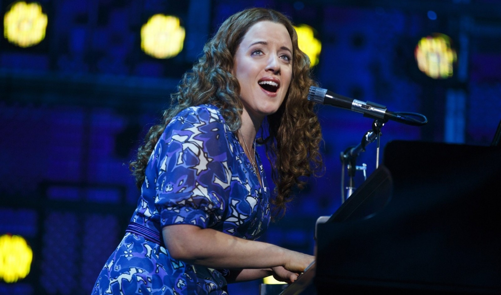 """Abby Mueller stars as Carole King in the touring production of """"Beautiful,"""" which plays through Sunday in Shea's Performing Arts Center."""