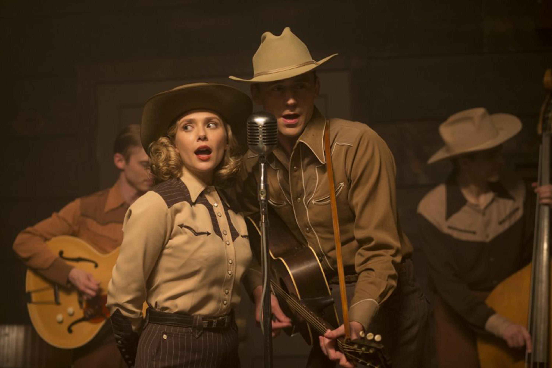 "Elizabeth Olsen and Tom Hiddleston star in ""I Saw the Light."""