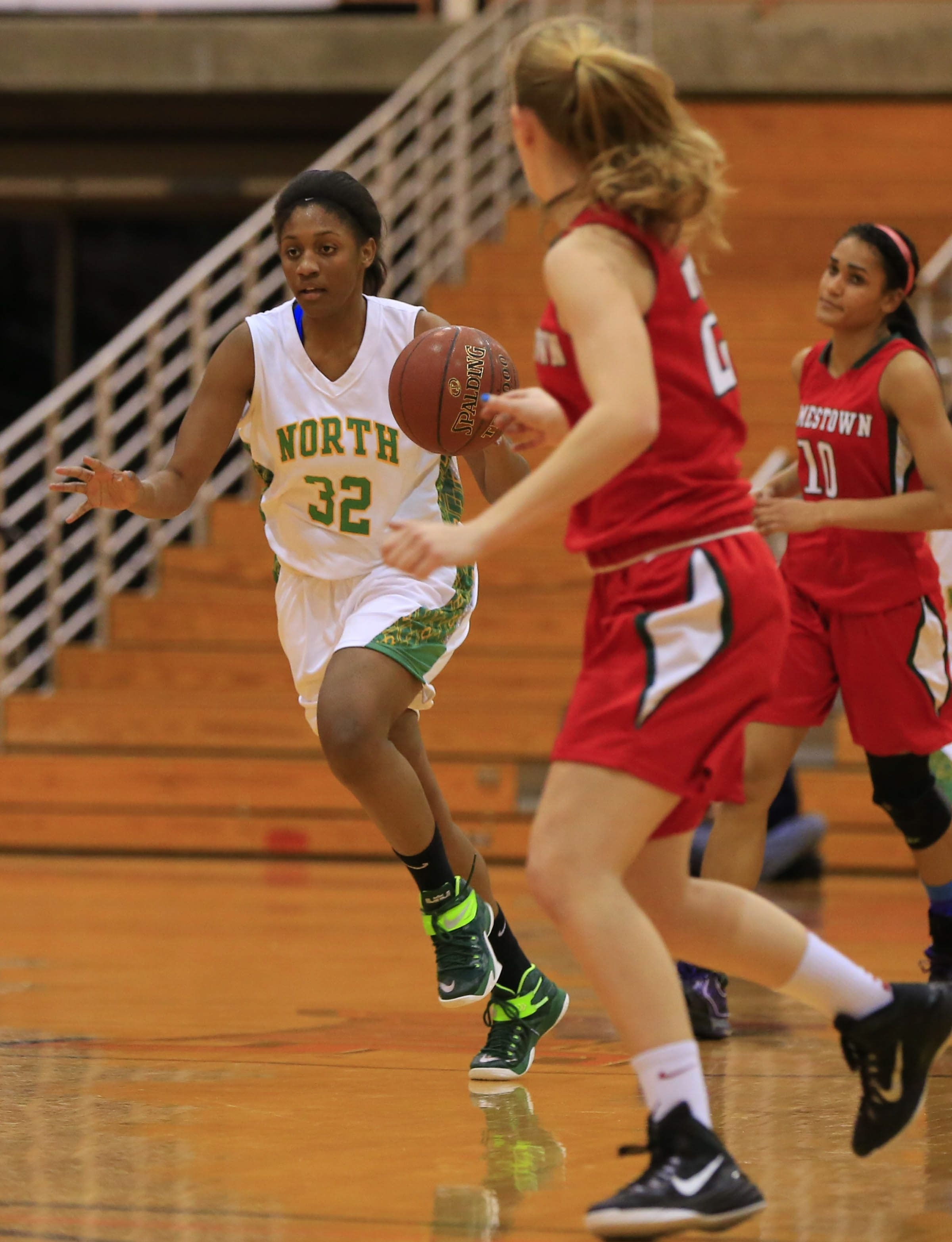 Williamsville North's Ericka Taplin will need to play well if the Spartans have hopes of winning Saturday.