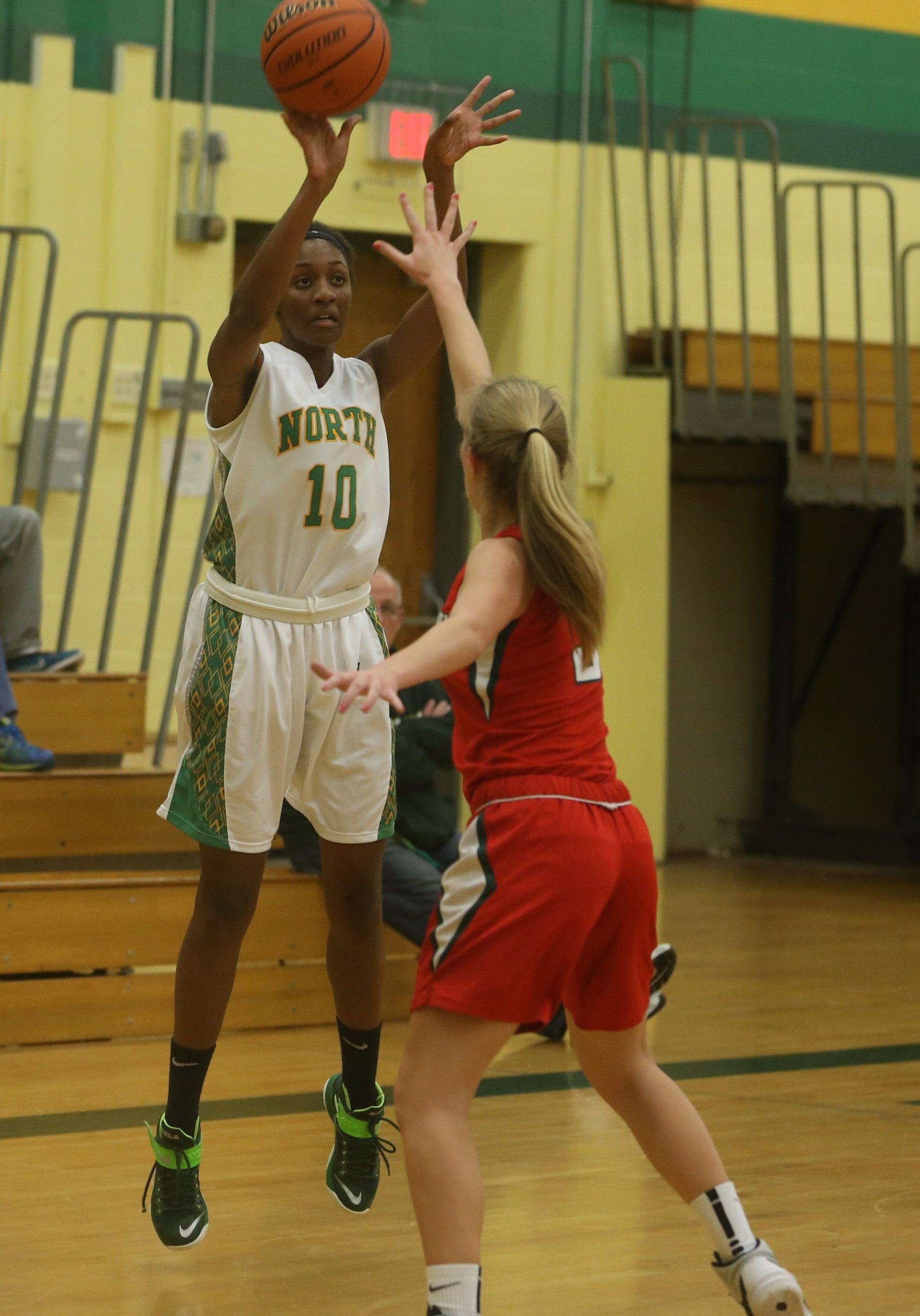 Williamsville North's Ericka Taplin has been superb in crucial situations during the postseason so far this year.