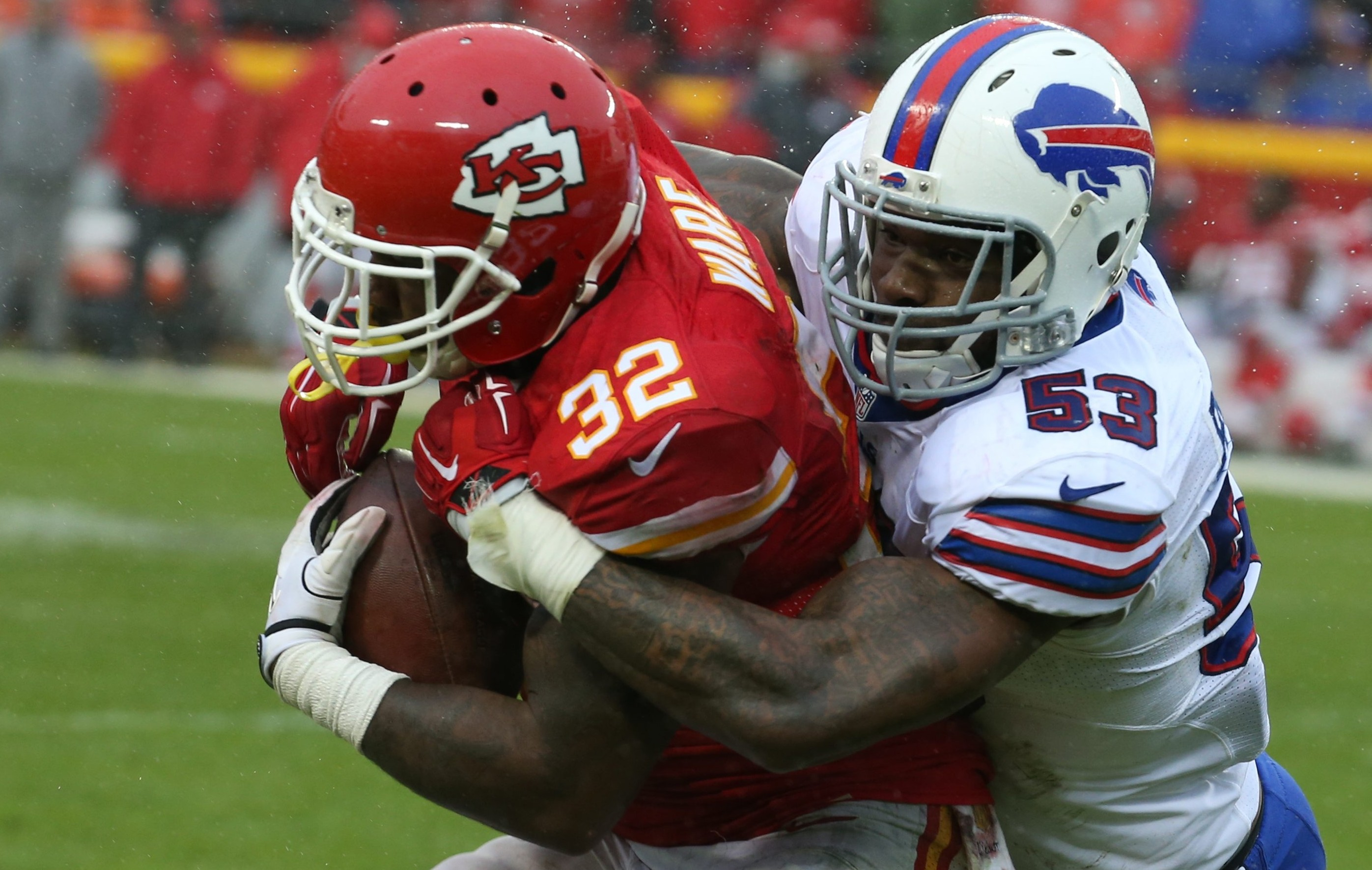 Bills linebacker Nigel Bradham is an unrestricted free agent who may not fit Rex Ryan's defense and the team's salary cap limitations.