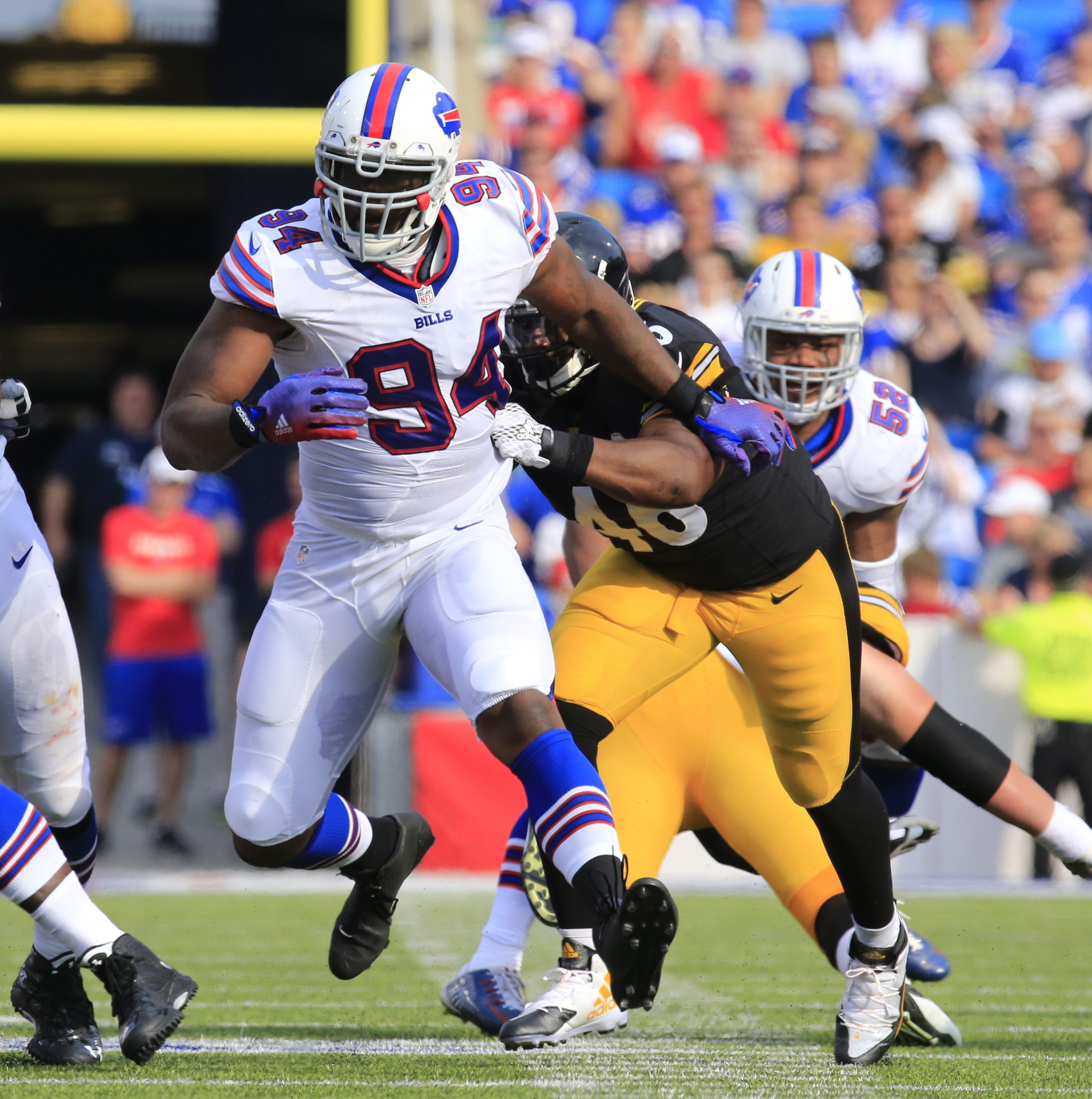 Mario Williams and coach Rex Ryan were a combination that did not work in Buffalo.