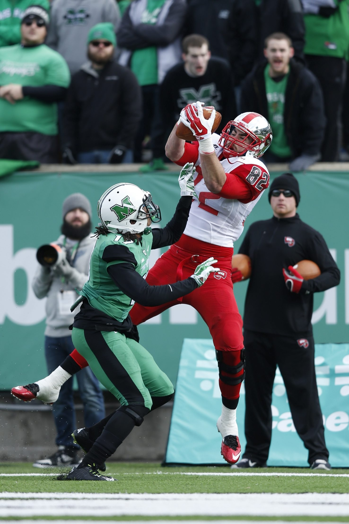 Tyler Higbee of Western Kentucky is one of the nation's best tight ends.