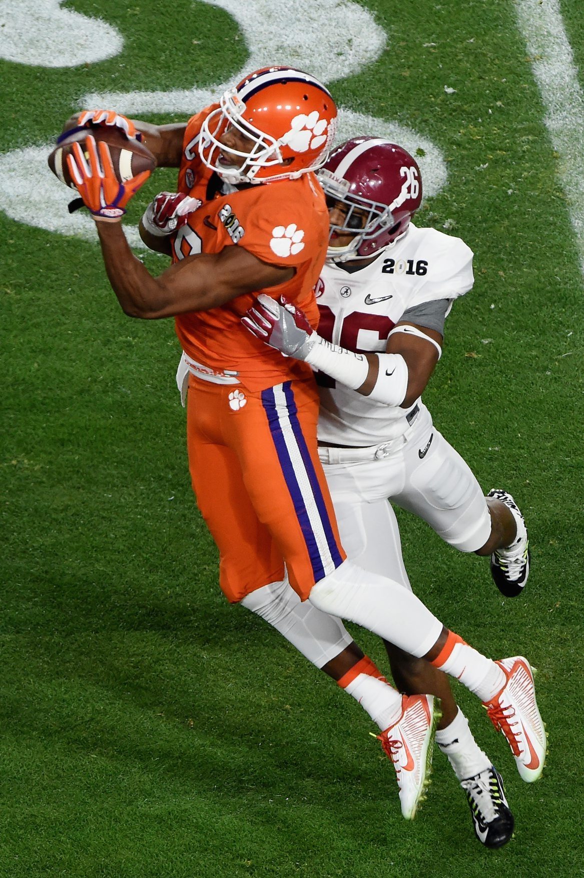 Charone Peake of Clemson could be on the Bills' radar at draft time. He's a close friend of Sammy Watkins.