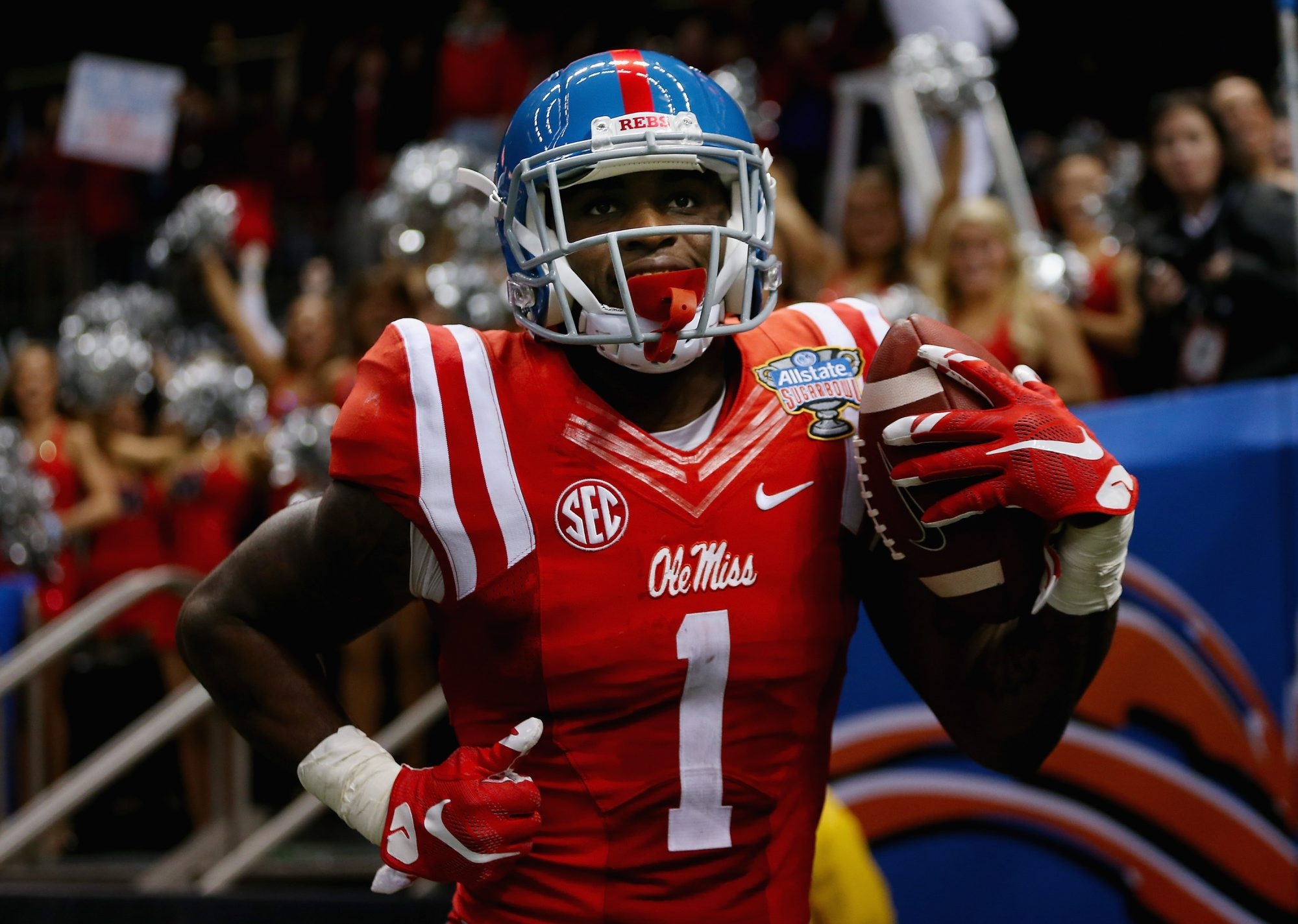 Laquon Treadwell of Mississippi is one of the few with top-end receiving skills in the 2016 NFL College Draft.