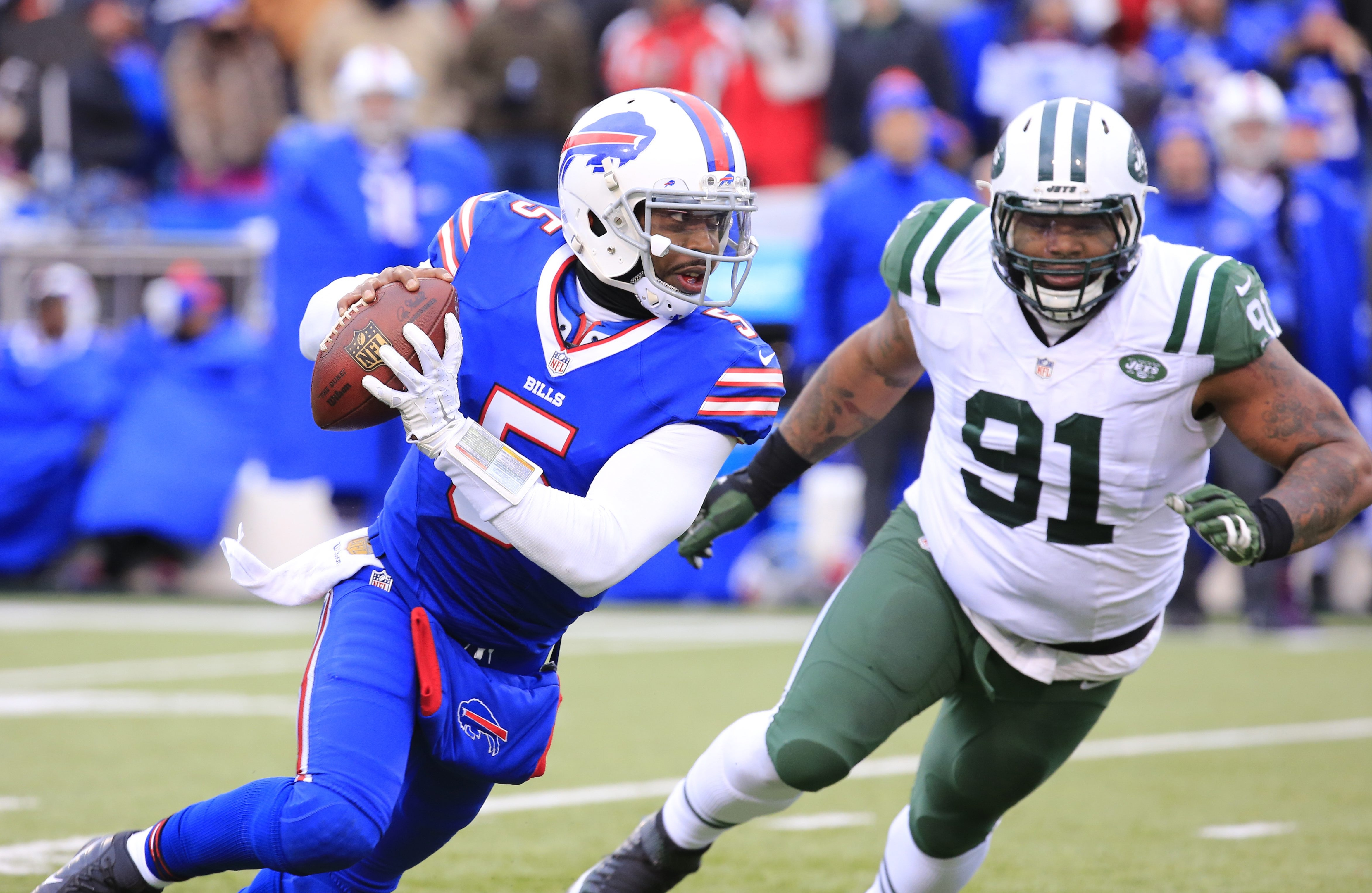 More and more it looks as if the Bills will let quarterback Tyrod Taylor play under the contract that will expire after the 2016 season.