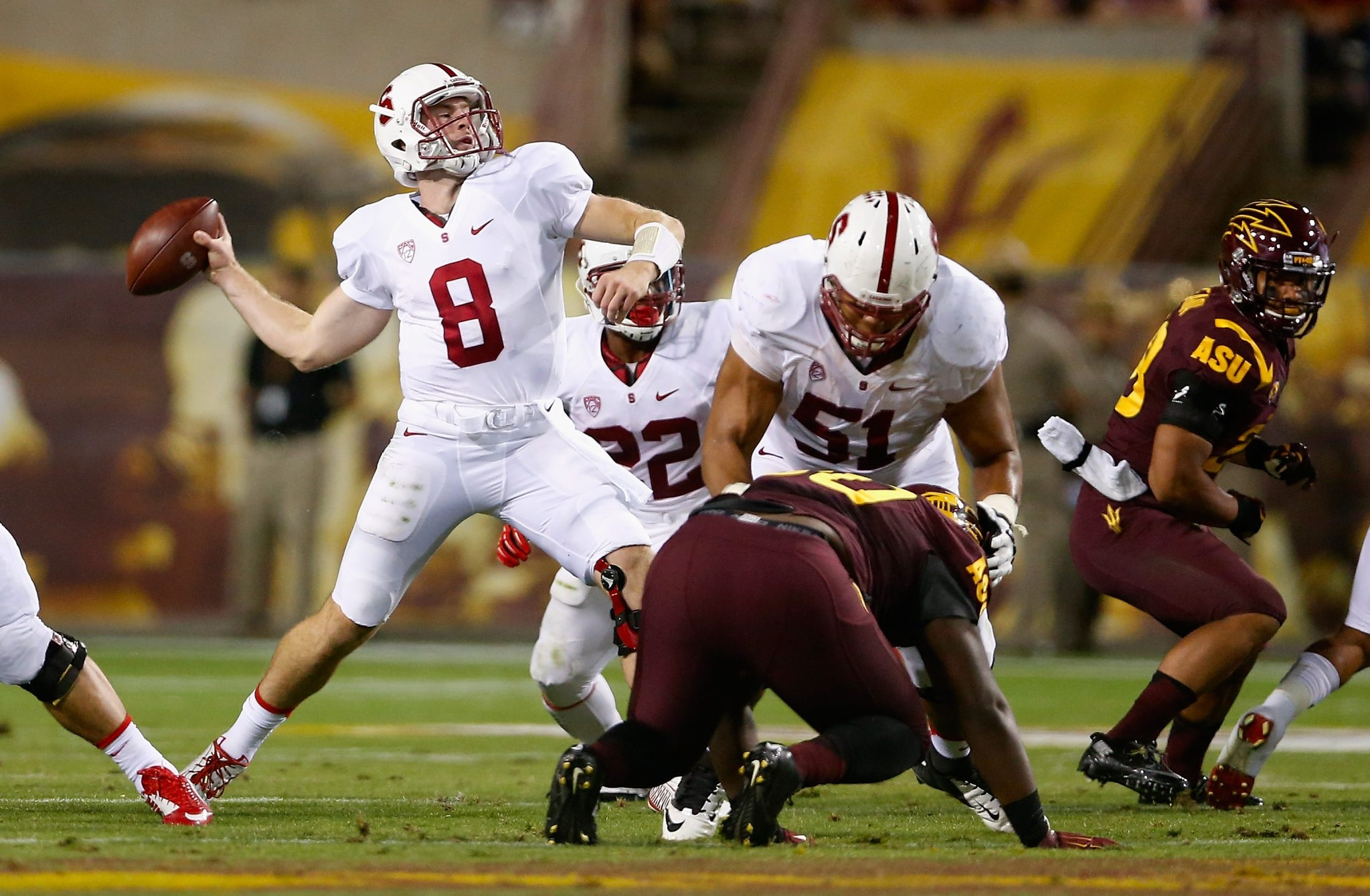 Kevin Hogan might be the most NFL-ready quarterback prospect in the draft, having run a pro-style offense at Stanford.