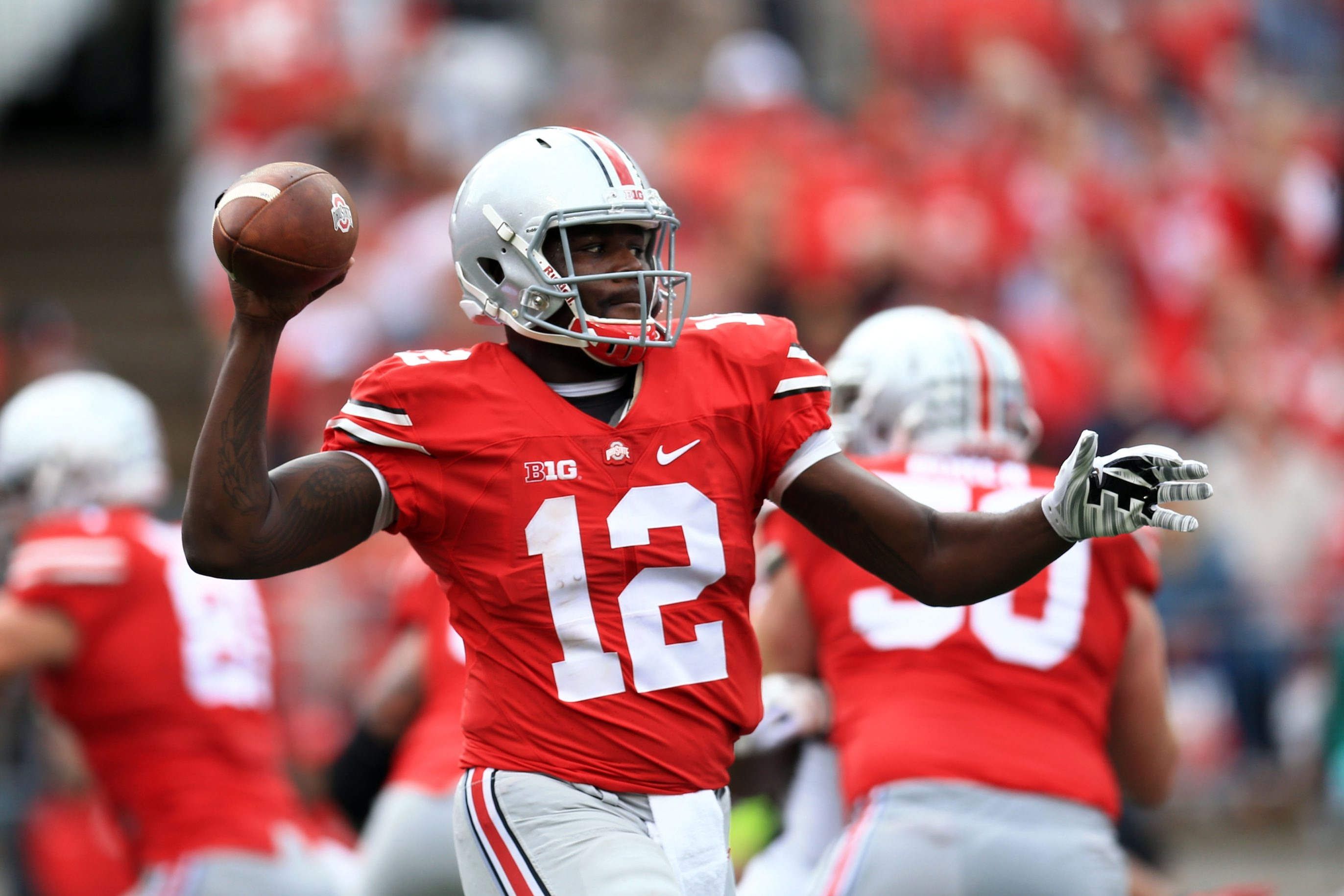Quarterback Cardale Jones led the Ohio State Buckeyes to a national championships in 2014.
