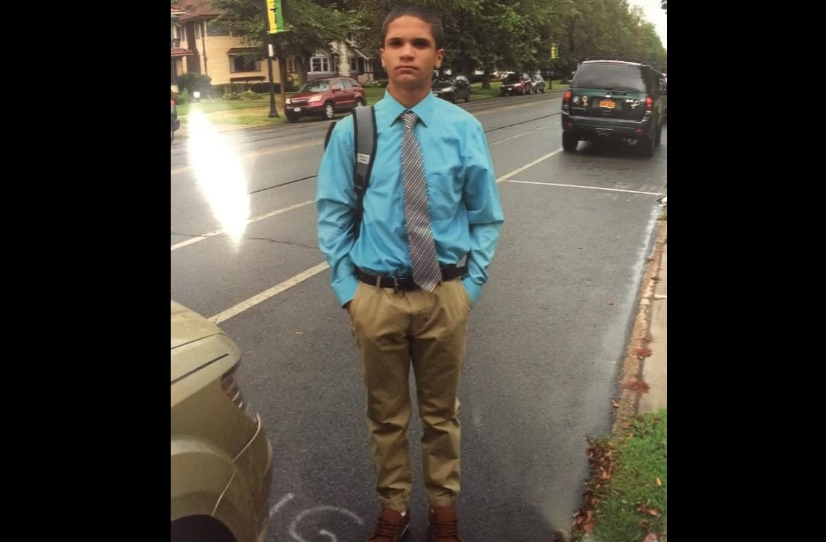 Reinaldo Ocasio, 14, was reported missing. (Buffalo police)