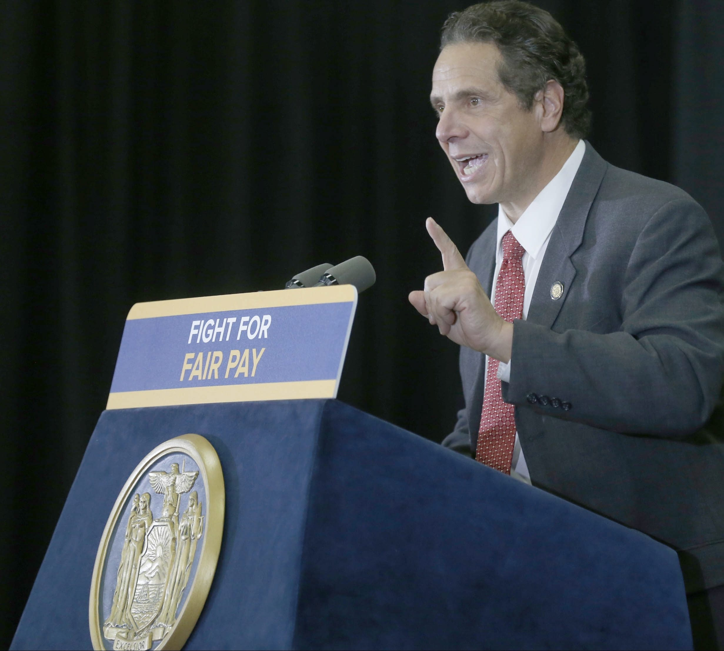 Gov. Andrew Cuomo is pushing for a gradual increase to $15 an hour in New York's minimum wage. The Senate, which says it could be persuaded to go along, must ensure that businesses can sustain those costs.