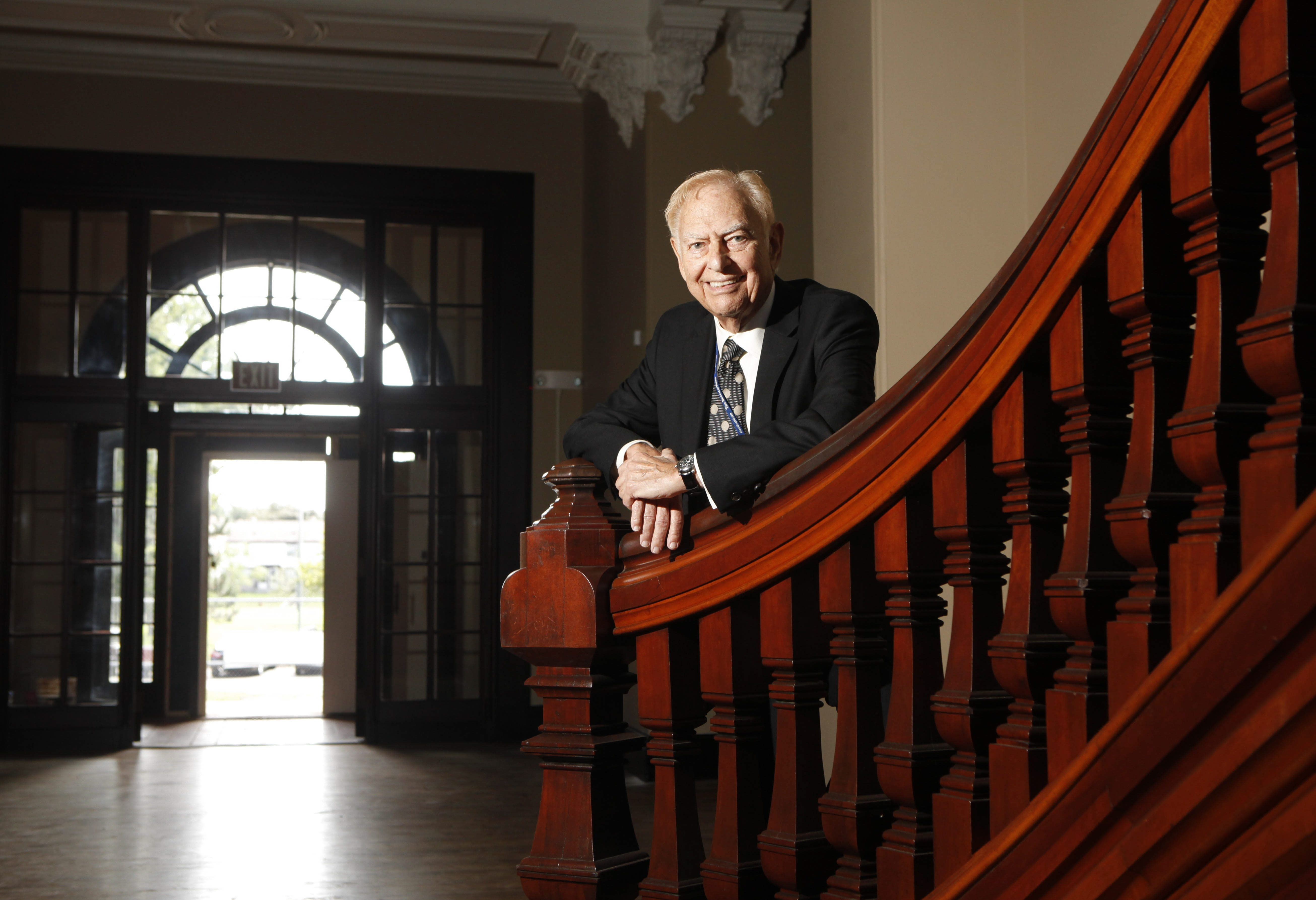 Buffalo News publisher emeritus Stanford Lipsey is chairman of the Richardson Center Corp., and a passionate community advocate.
