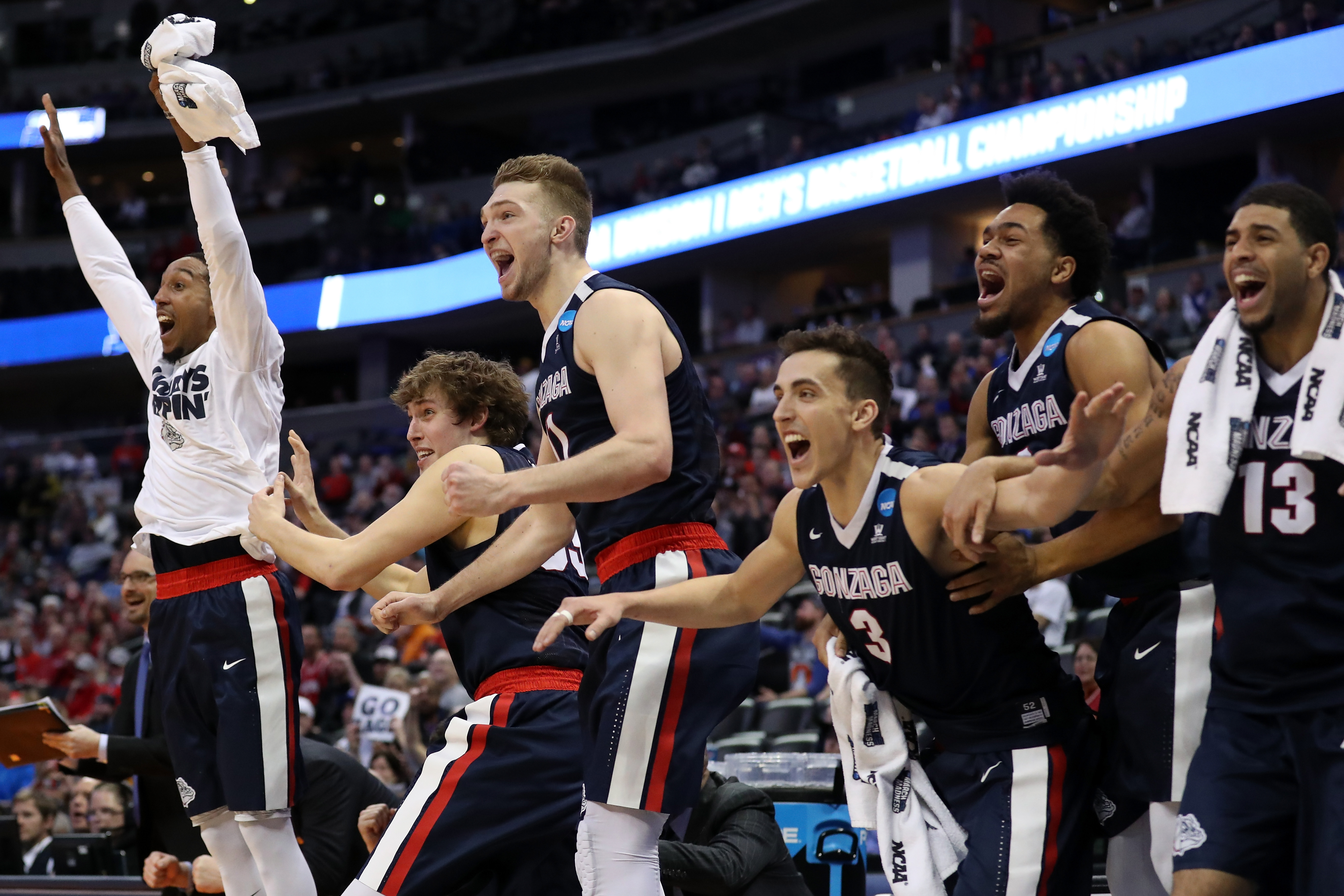 Despite being an 11th-seed, Gonzaga can't be considered a Cinderella story, it's made the NCAA Tournament every year since 1999.