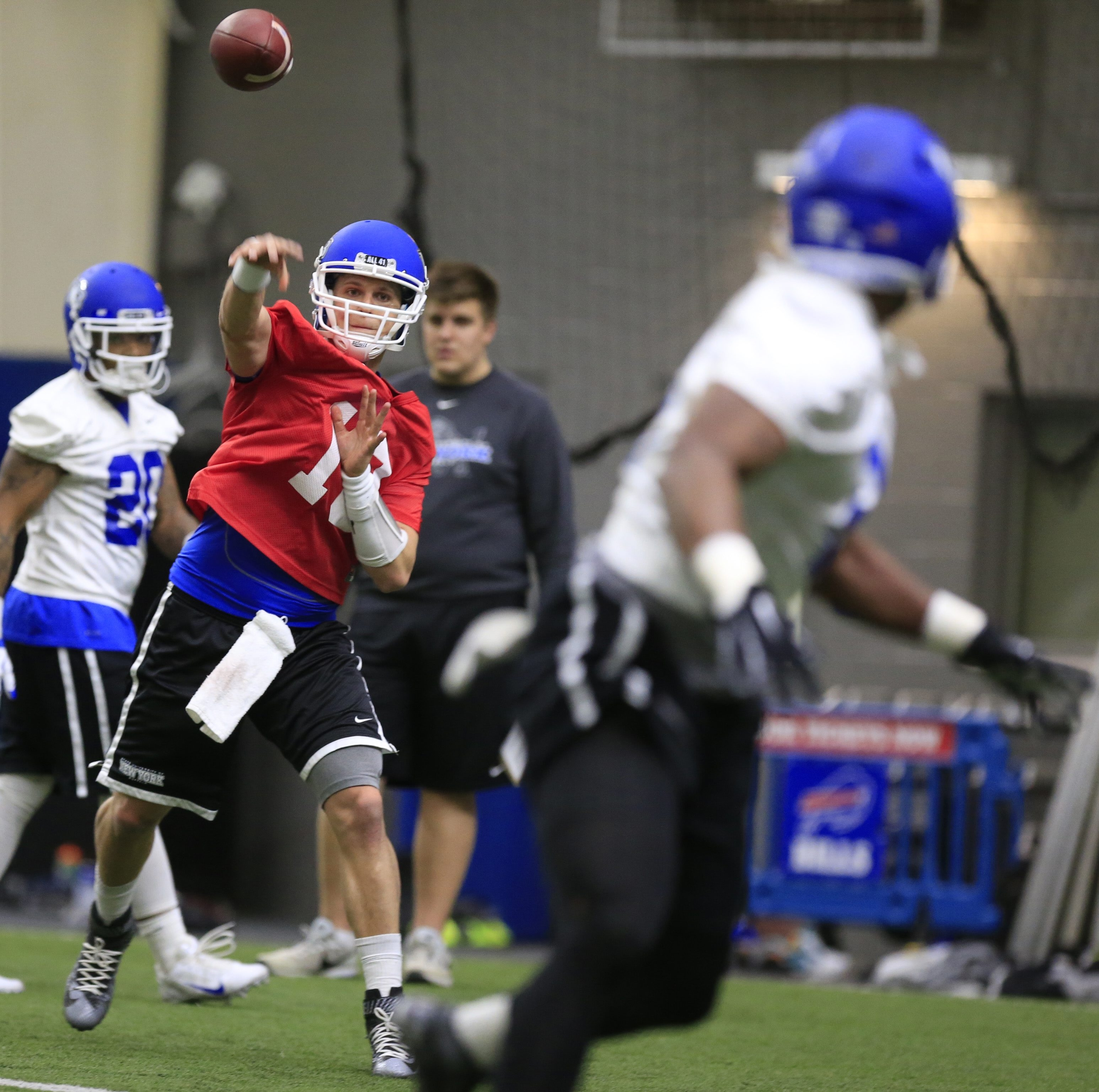 Iowa State transfere Grant Rohach has the most game experience of UB's quarterback candidates.