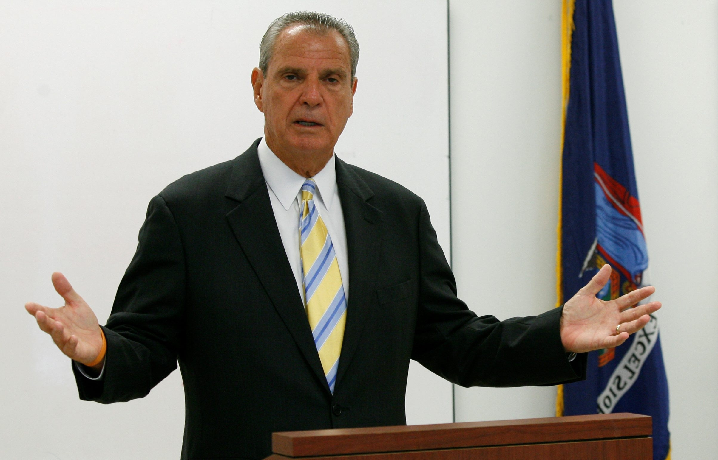 Niagara County District Attorney Michael J. Violante will step down from the post he has held since 2008.. (Harry Scull Jr./News file photo)