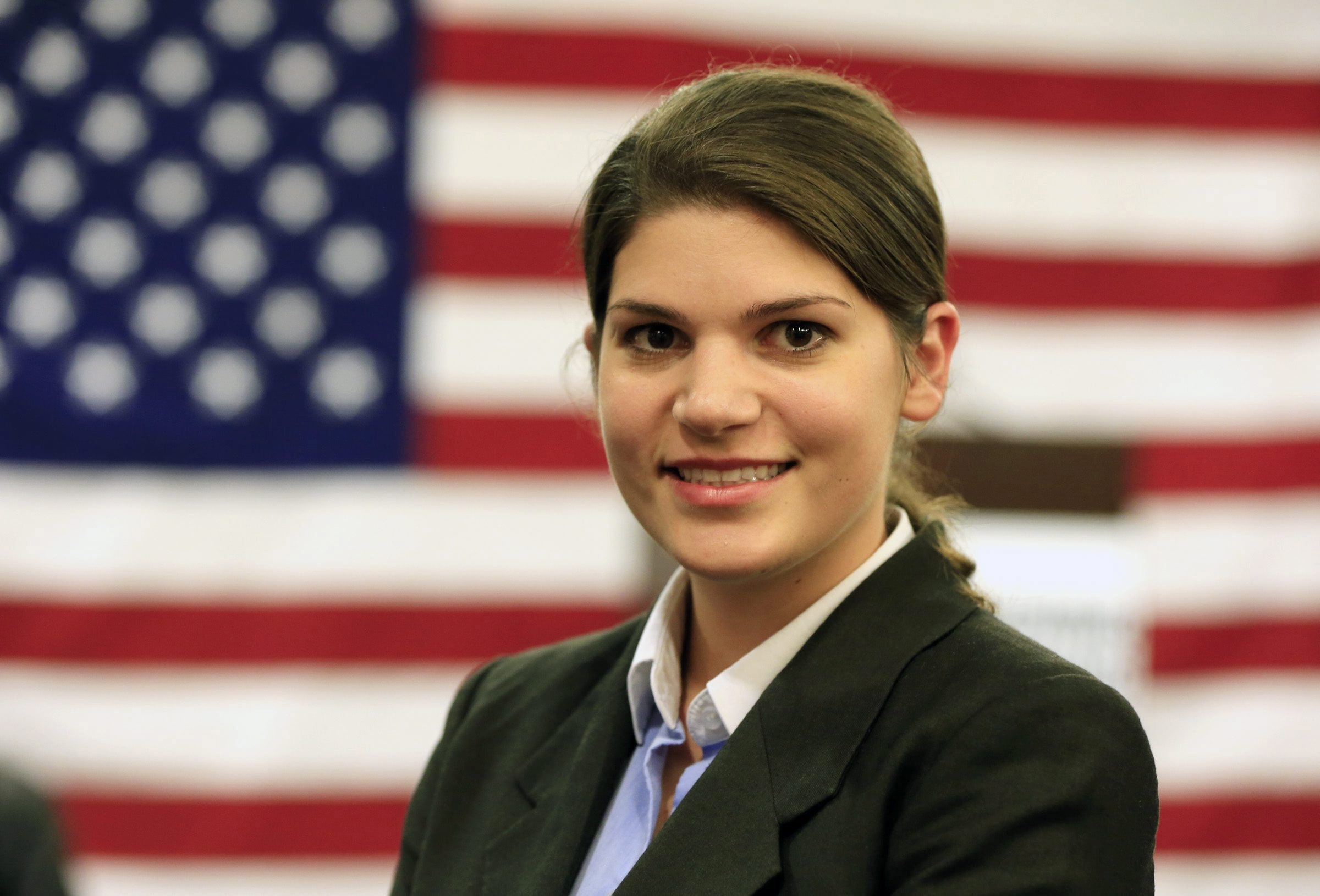 File photo of Cheektowaga Republican Angela Wozniak after her election to the Assembly in 2014.  (Harry Scull Jr./Buffalo News)
