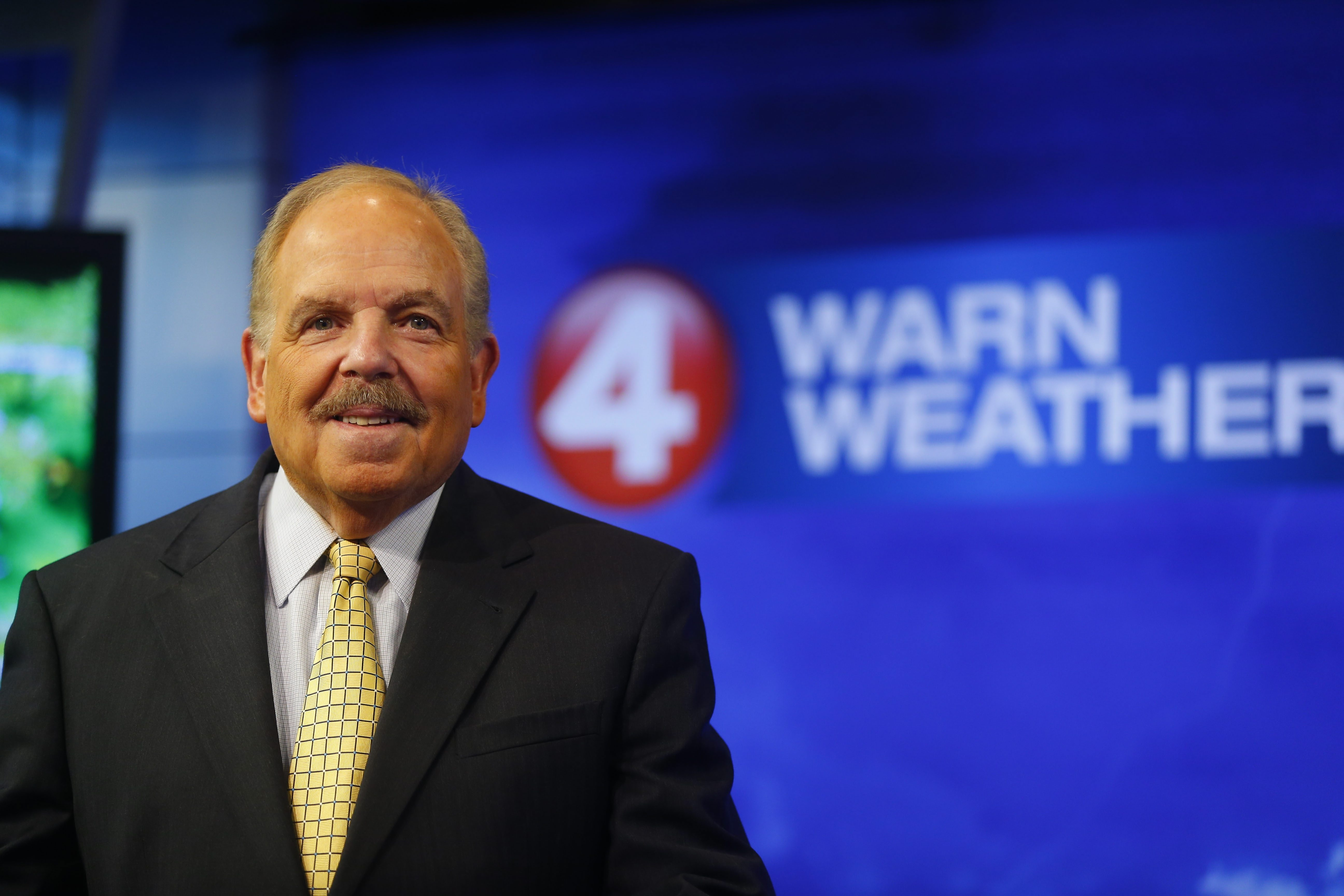 Channel 4 meteorologist Don Paul will do his final weather broadcasts on Wednesday. (Mark Mulville/Buffalo News)