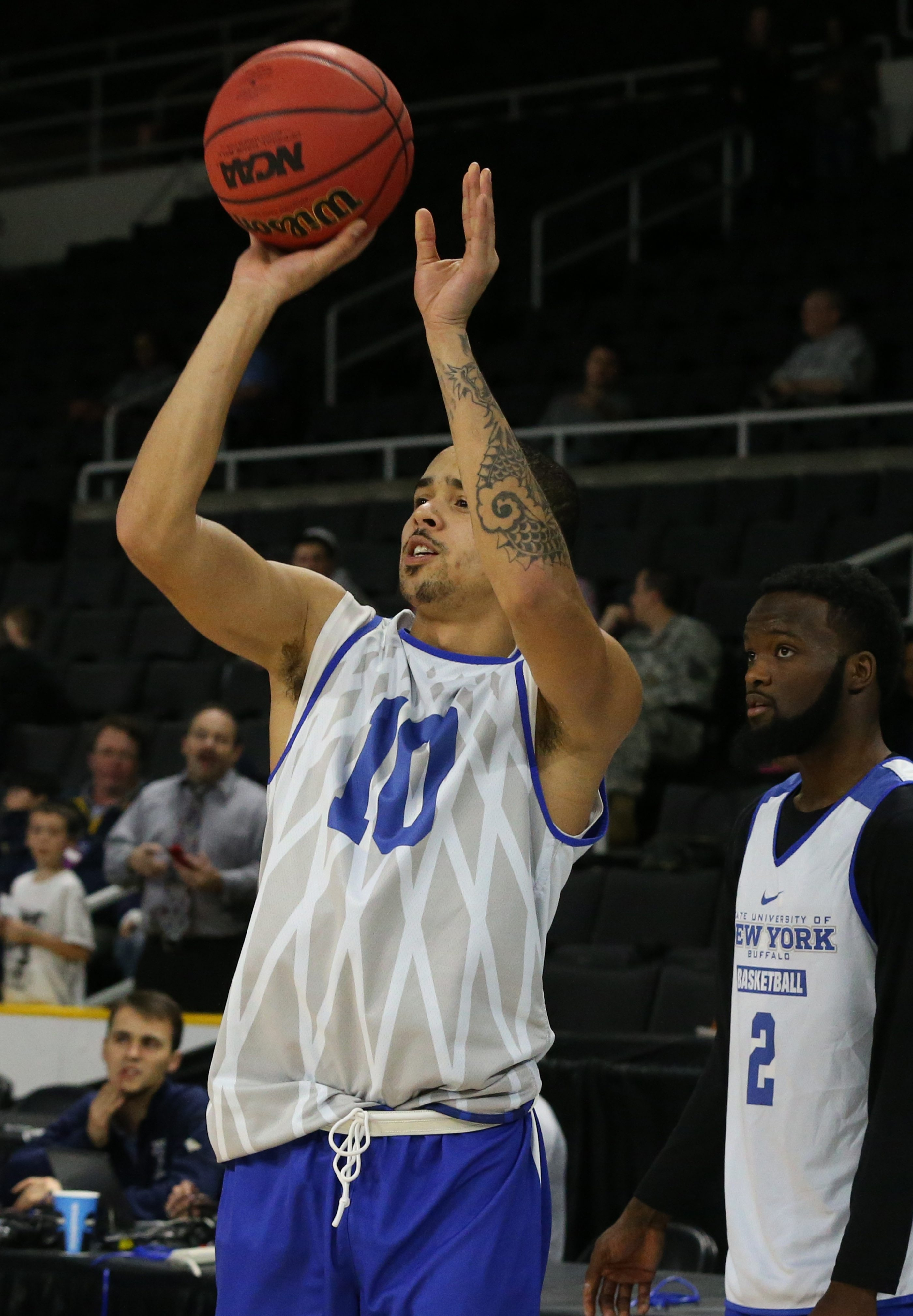 UB may need a big game from three-point shooters such as Jarryn Skeete to upset Miami in the NCAA Tournament on Thursday.