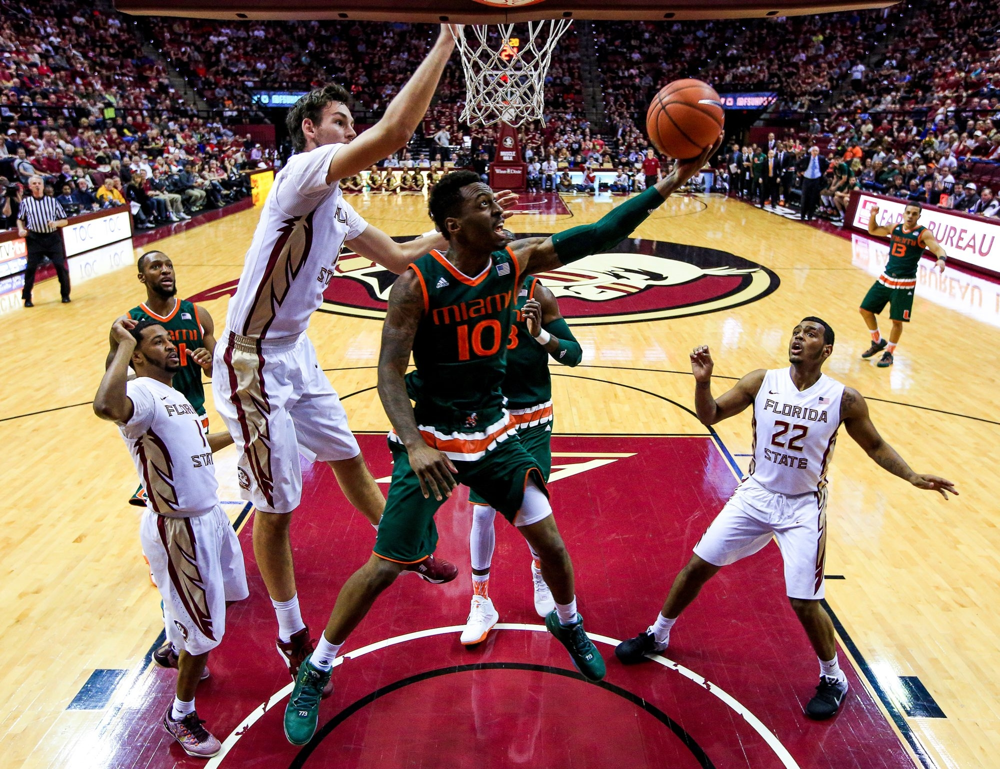 Sheldon McClellan of Miami is big guard who is getting attention from NBA scouts.