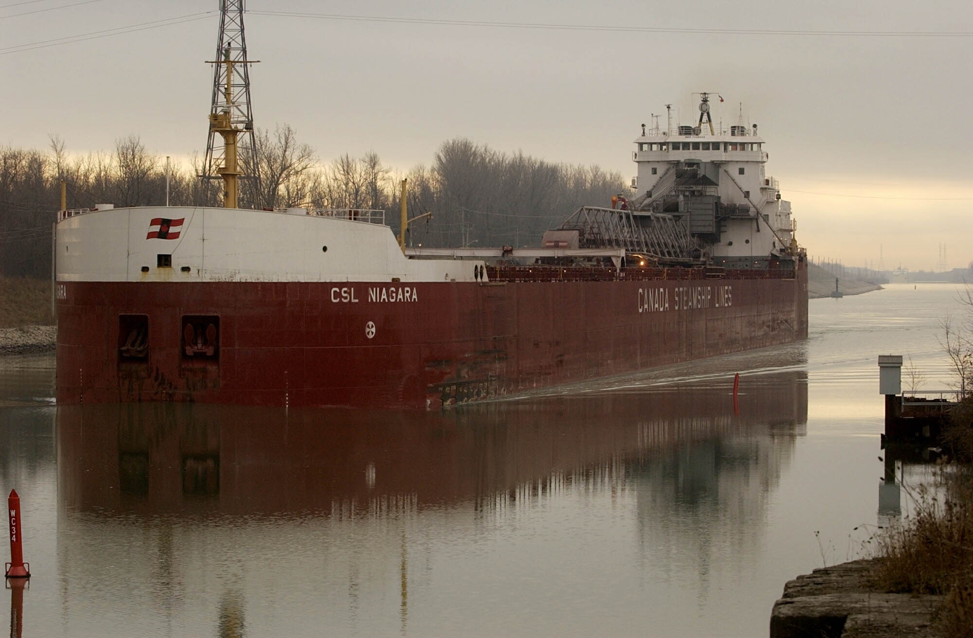 Boat traffic will resume through the Welland Canal on March 21 this year. (News file photo)