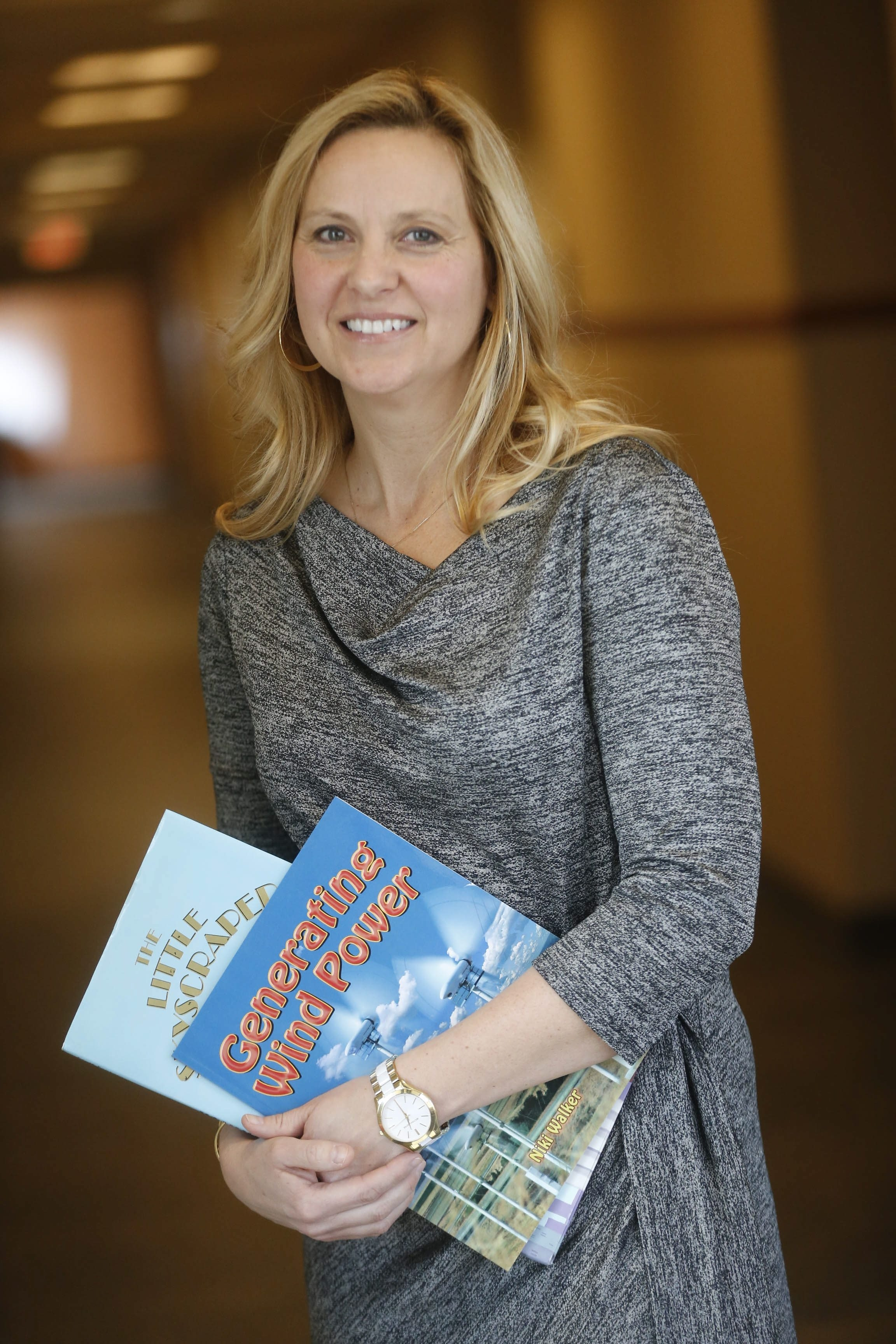 Kathleen McGrath of the Family Literacy Center at Niagara University believes reading can change lives.