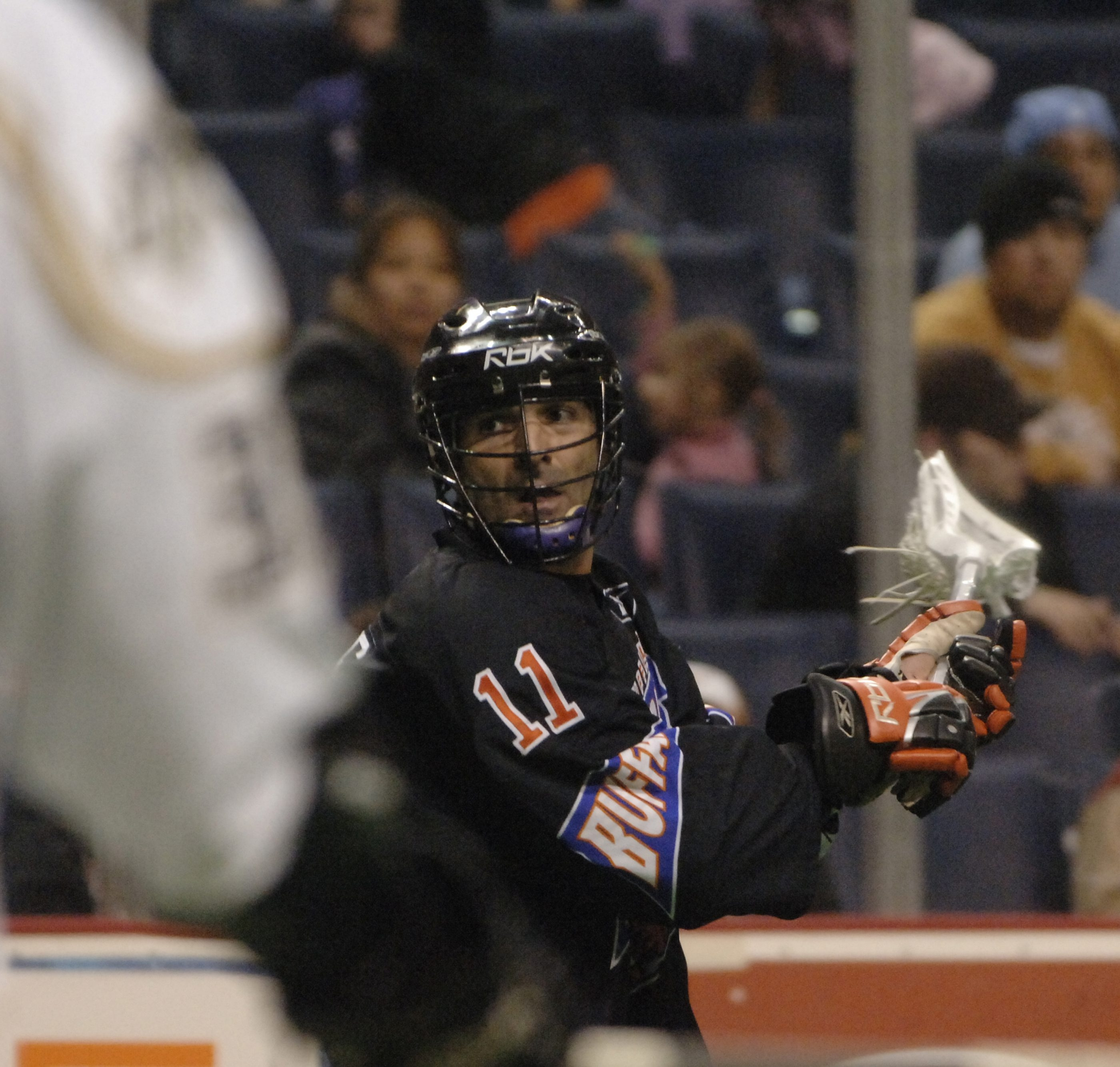 John Tavares played with the Bandits for 24 seasons, winning four titles, and has more points than anyone in league history.