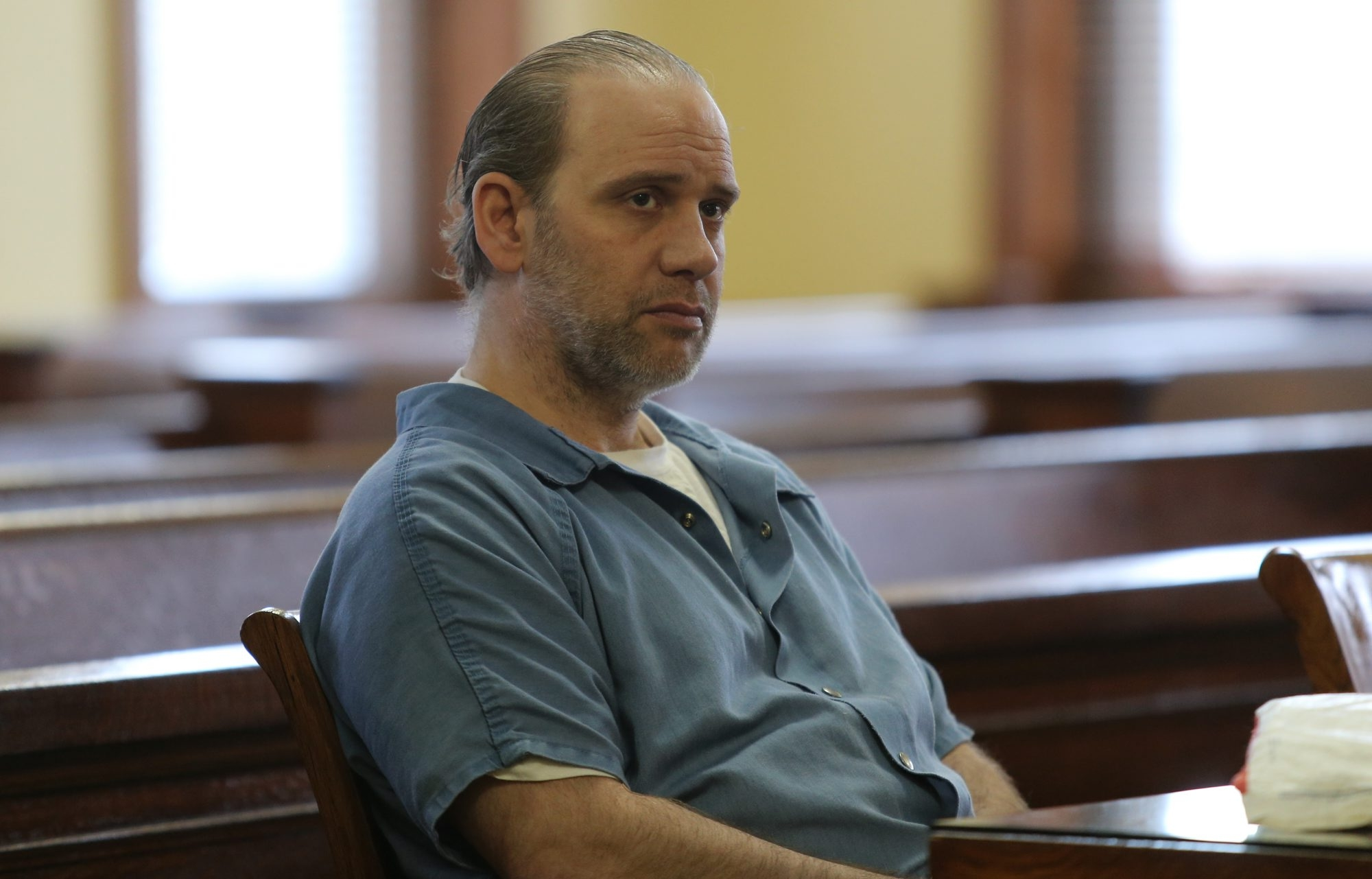 Timothy C. DePetris appears at the Niagara County Courthouse in Lockport in 2014. (Buffalo News file photo)