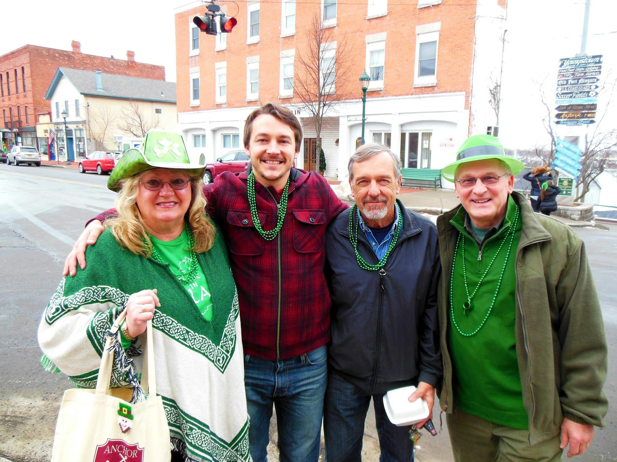 Revelers bedecked in green attend Youngstown's O'Riordan St. Patrick's Day Parade in 2015.