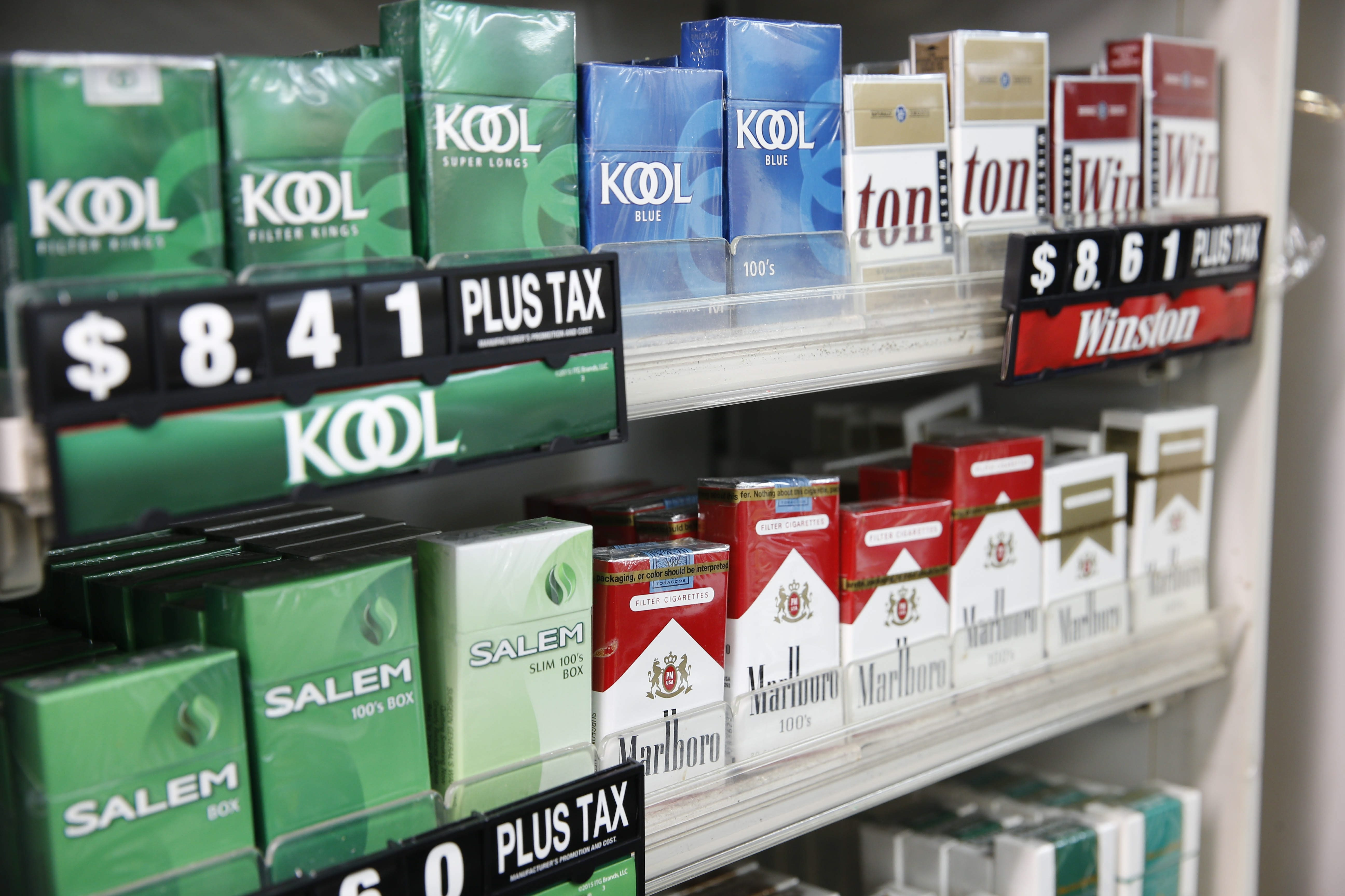 Sales of cigarettes conflict with pharmacies' role as places providing health-giving products. (Derek Gee/Buffalo News)