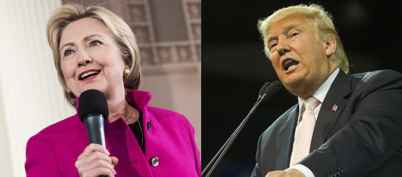 Hillary Clinton and Donald Trump hold strong leads over their opponents among New York registered Republicans and Democrats, according to a new poll.