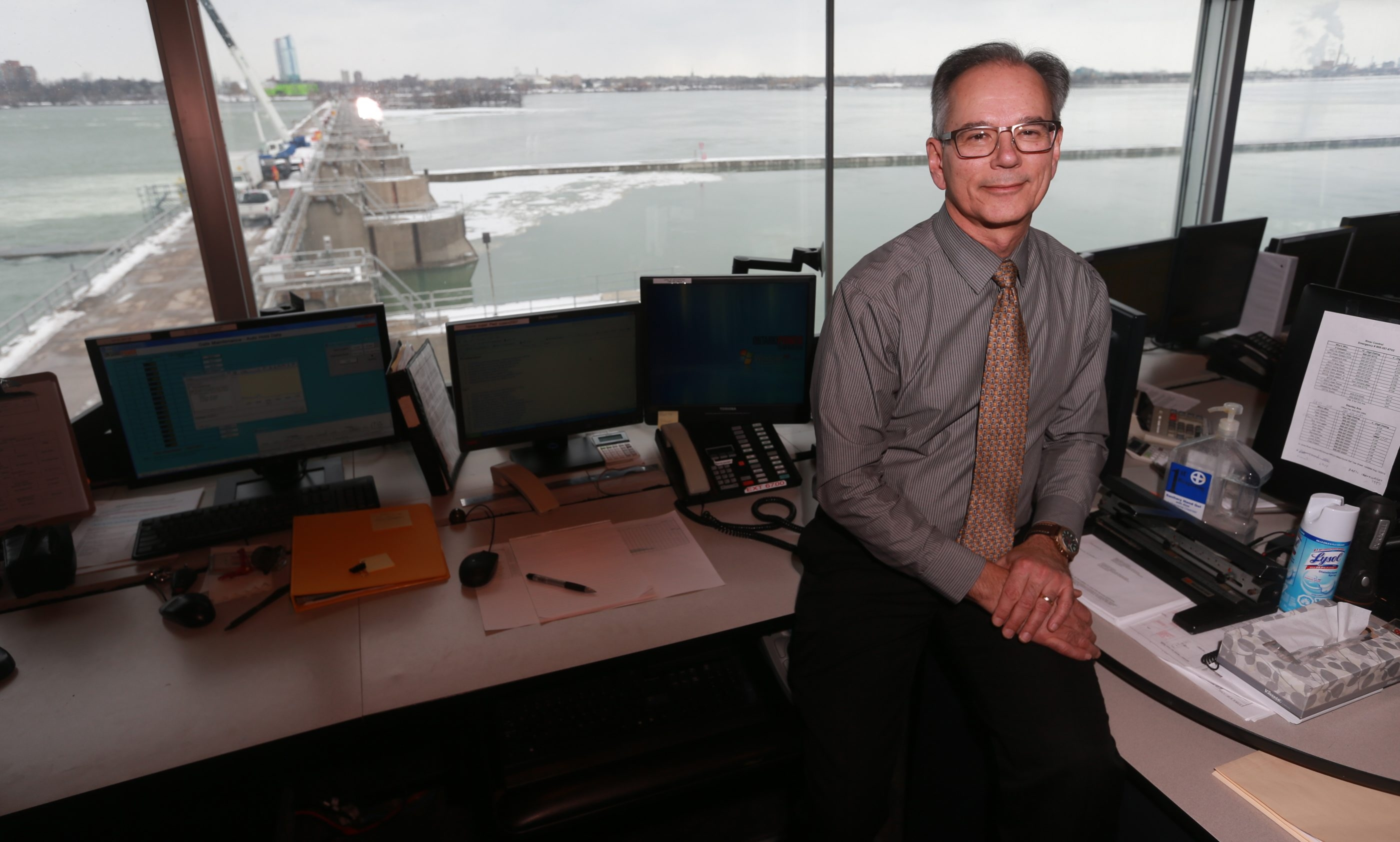 "Peter Kowalski says the Niagara River Control Center really serves as a water broker. ""You won't find another facility or operation like this,"" he said."