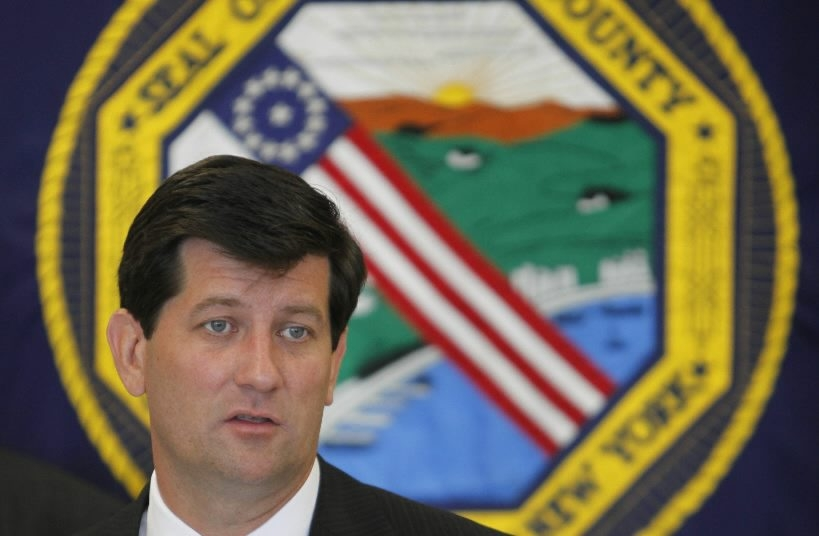 """""""The sale of cigarettes is incompatible with what pharmacies are supposed to do,"""" Erie County Executive Mark C. Poloncarz says."""